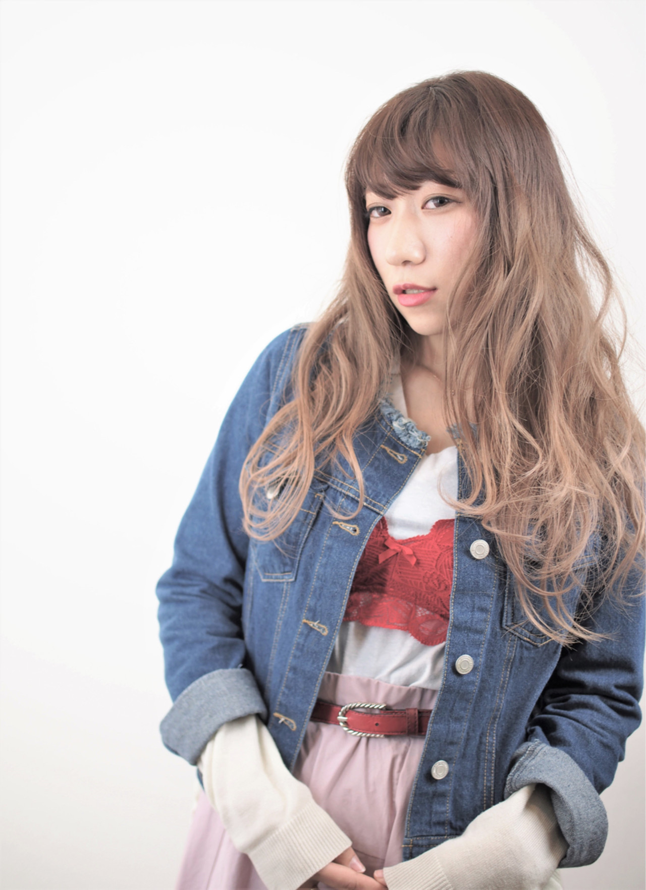 リラックス 女子会 ナチュラル グラデーションカラー ヘアスタイルや髪型の写真・画像