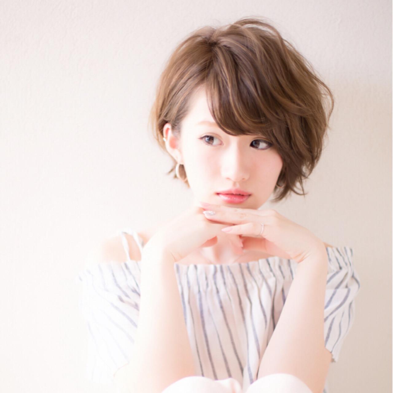 女度を上げるショートのヘアスタイルが可愛すぎる♡ 土田 哲也