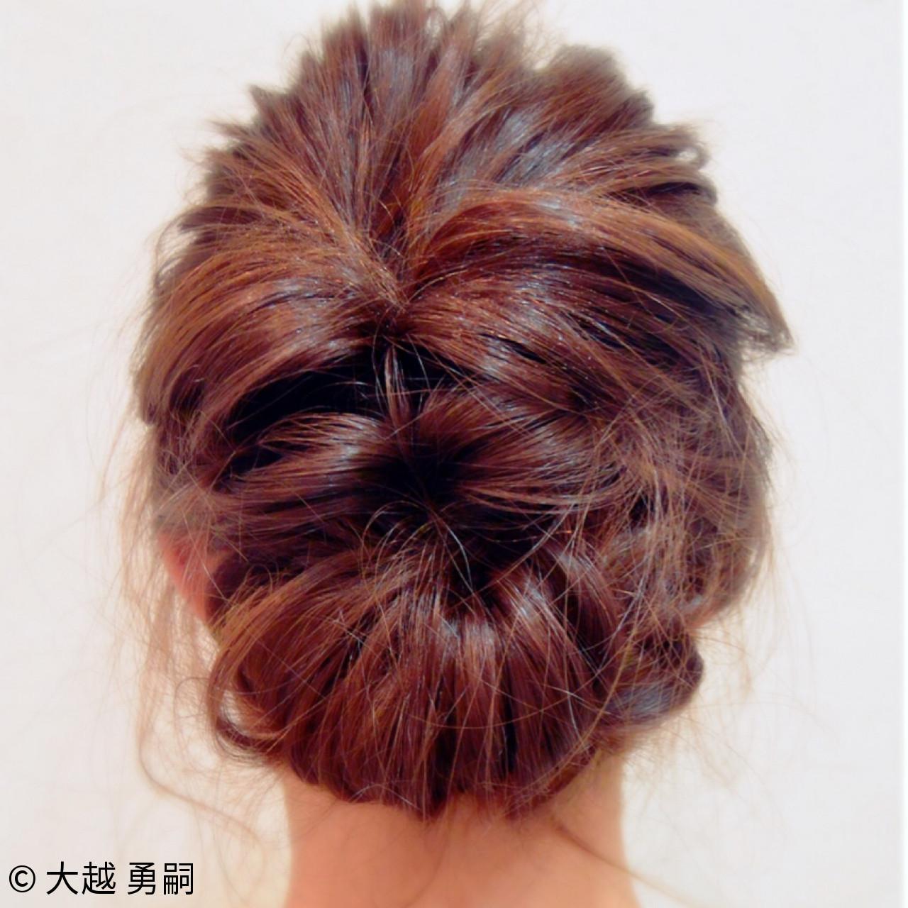 忙しい朝に◎簡単にまとめ髪が作れるロングヘアアレンジ集 大越 勇嗣