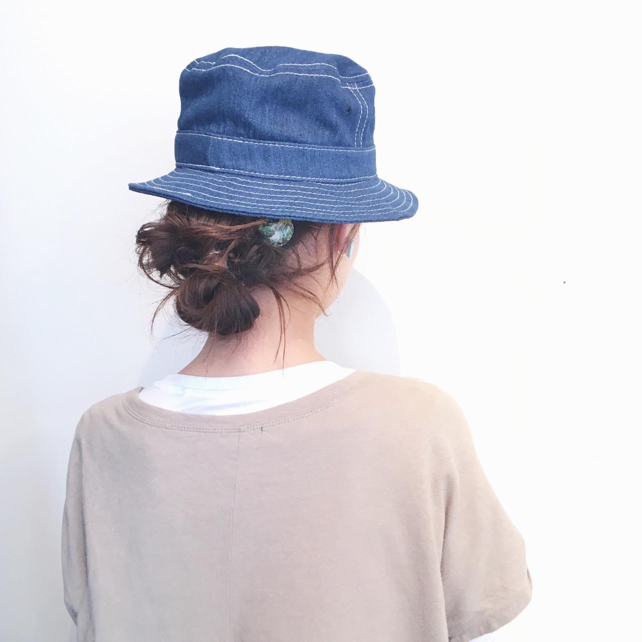 """簡単可愛い""""お団子""""の作り方♡低め、後頭部、てっぺん、作る位置別に紹介 ayamimurakami"""
