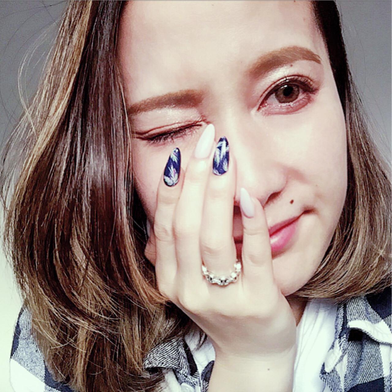 外国人風カラー ハイライト ダブルカラー バレイヤージュ ヘアスタイルや髪型の写真・画像
