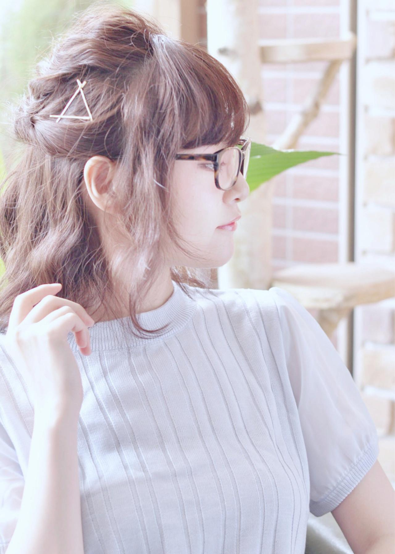 【ミディアム向け】どんなシーンでも使える大人かわいいまとめ髪特集 Haruka
