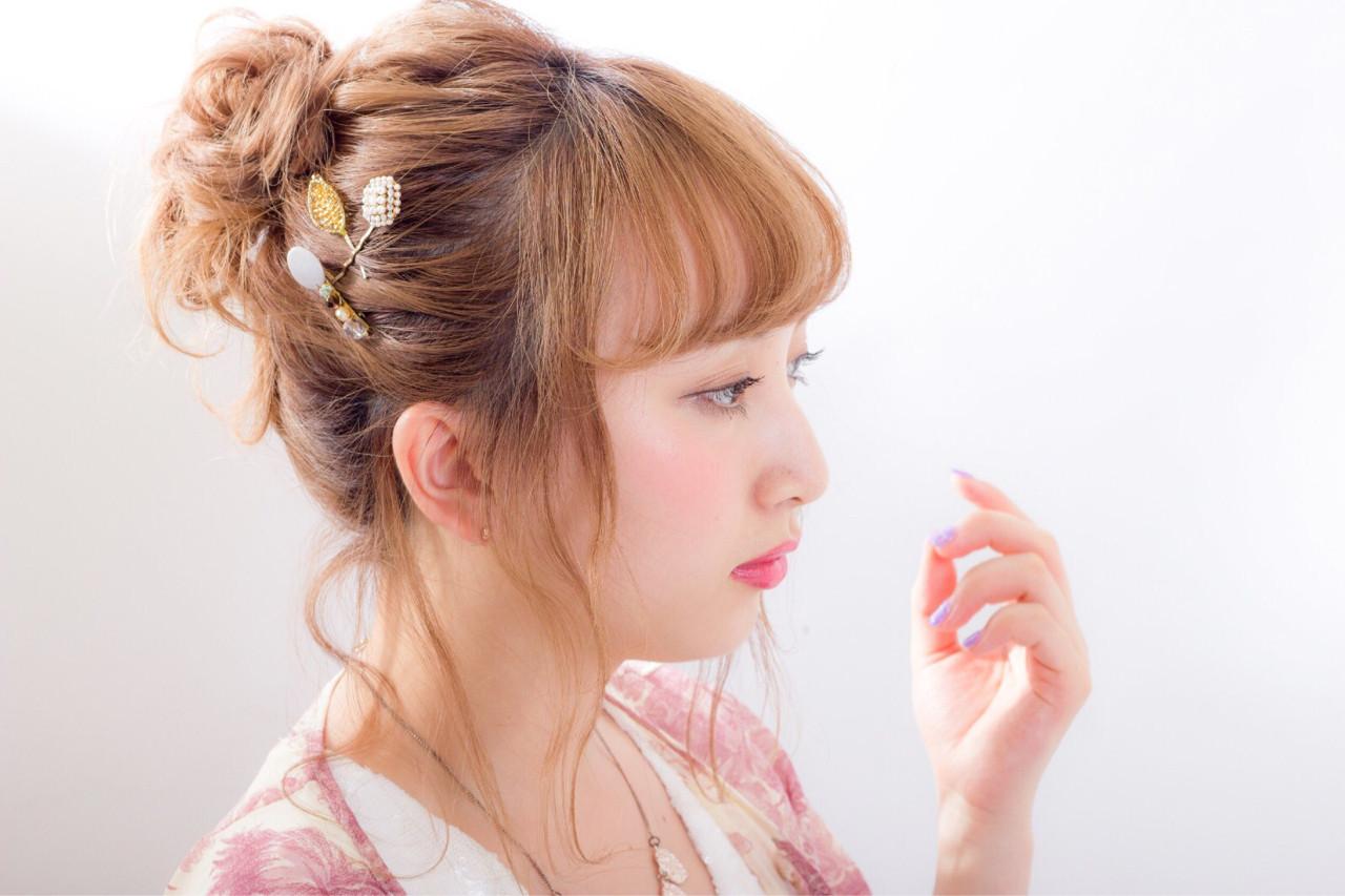 忙しい朝に◎簡単にまとめ髪が作れるロングヘアアレンジ集 柳平 真由佳