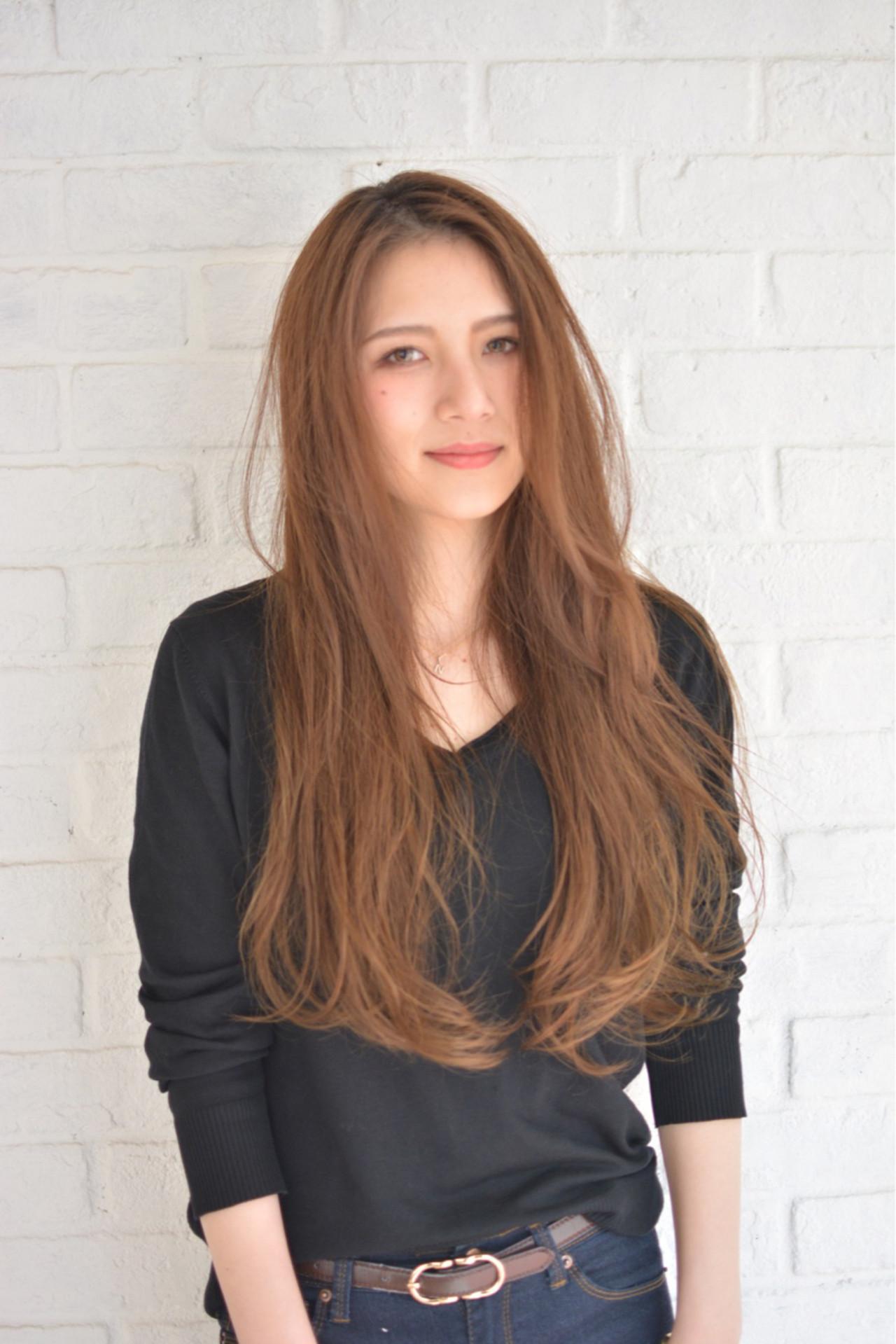 透明感 パーマ アッシュ ストリート ヘアスタイルや髪型の写真・画像