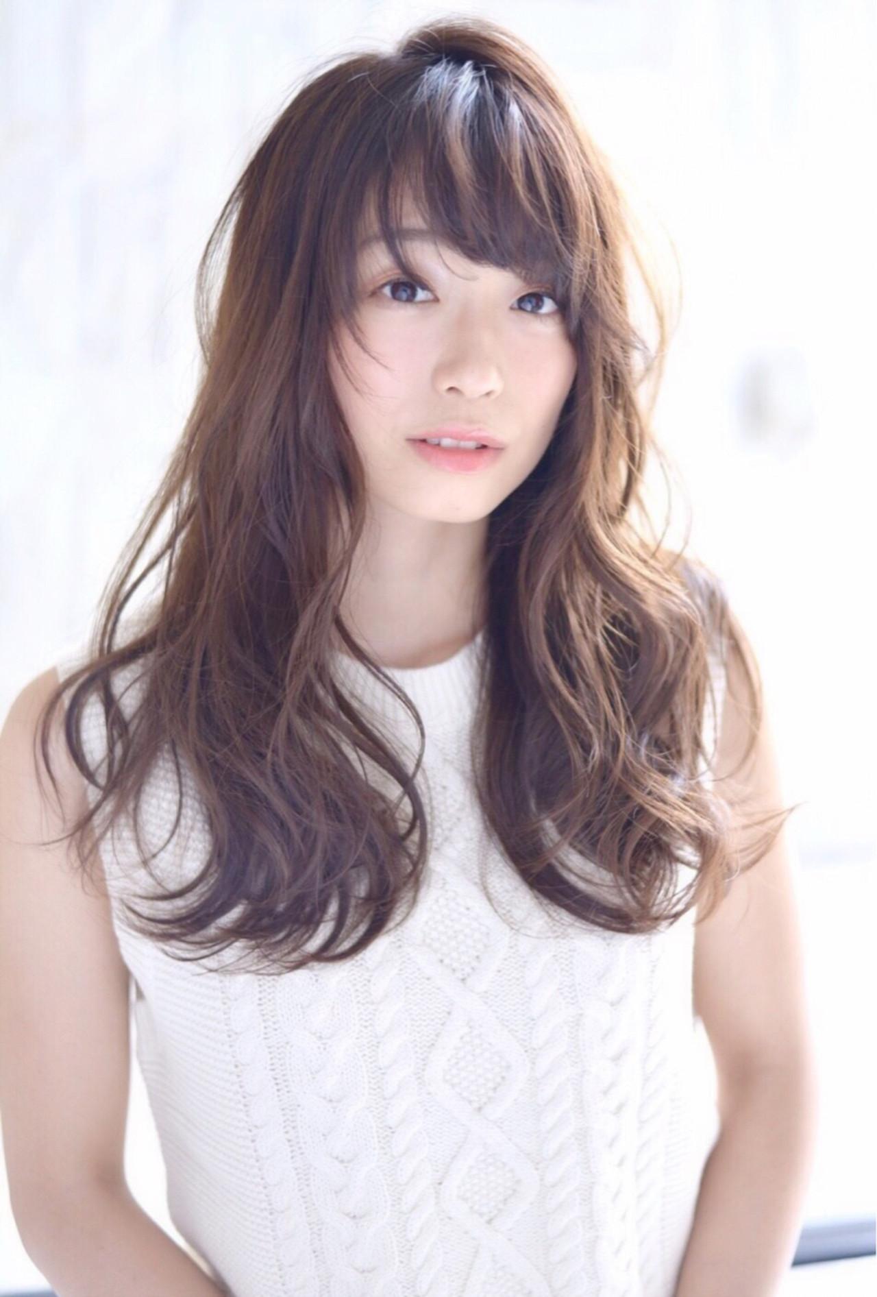おフェロ 暗髪 ブラウン 大人女子 ヘアスタイルや髪型の写真・画像