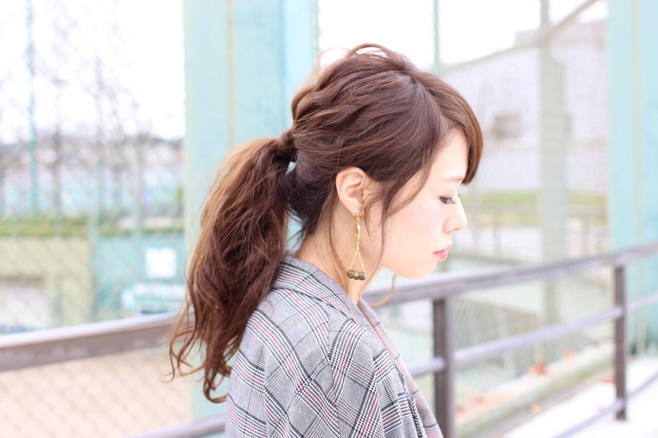 忙しい朝に◎簡単にまとめ髪が作れるロングヘアアレンジ集 桐谷 芽依
