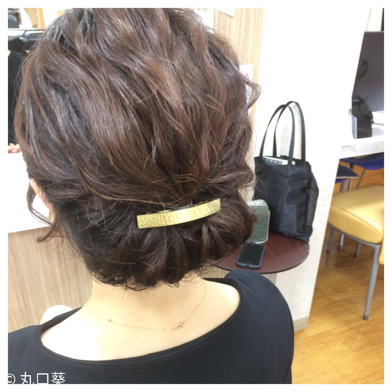 忙しい朝に◎簡単にまとめ髪が作れるロングヘアアレンジ集 丸口葵