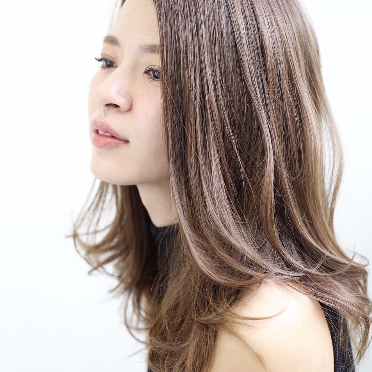 【外国人風ヘアカラー】なりたい髪色でカラーリングを変えるのが上級者♡ YURI