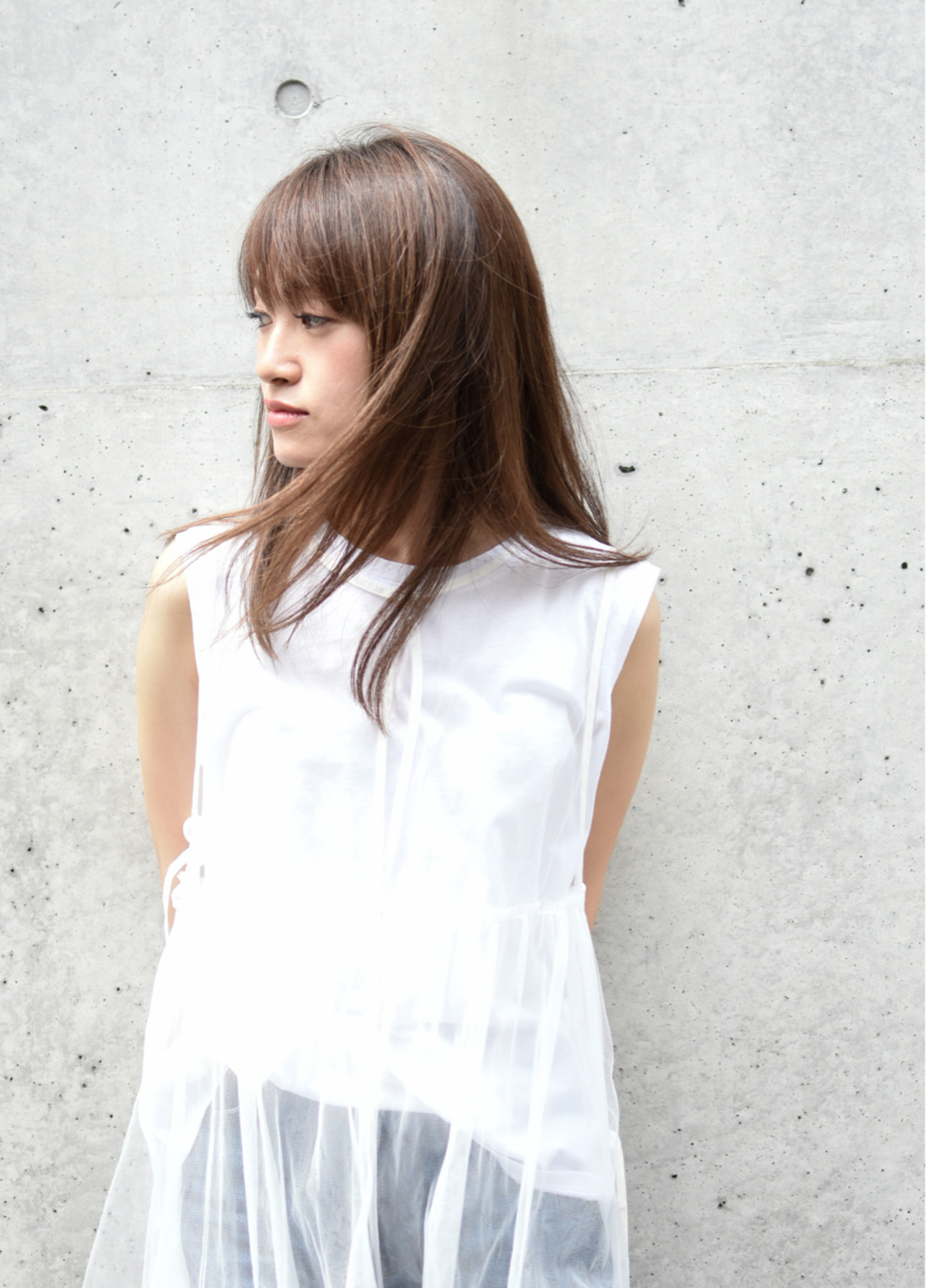 面長ロングさん向けヘアスタイル10選!自分に似合う髪形を知ろう。 田村 恵介 / PLACE IN THE SUN