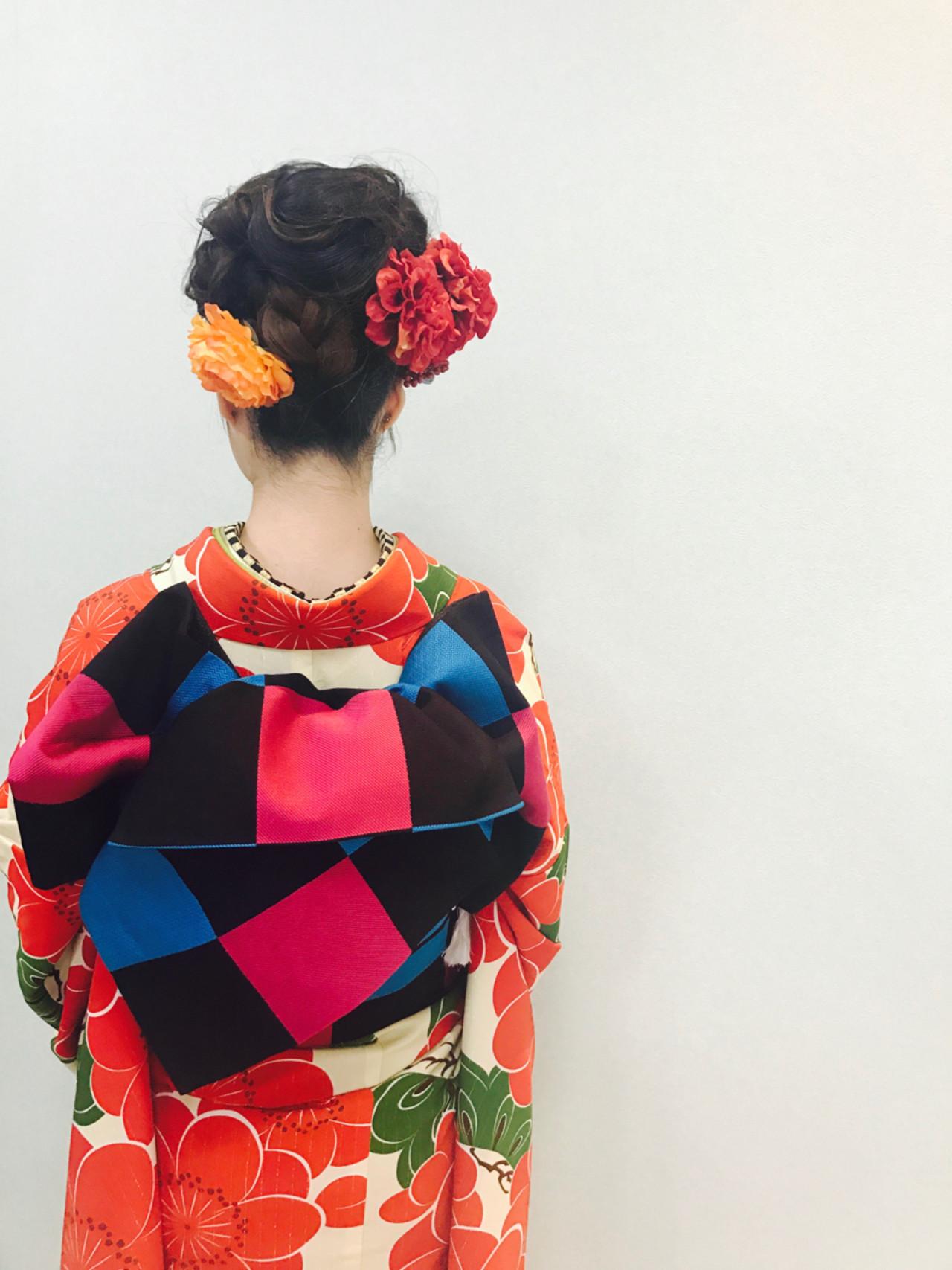 【長さ別】着物に似合う大人かわいいヘアアレンジで、はんなり美人に。 affect.stylist.misuzu