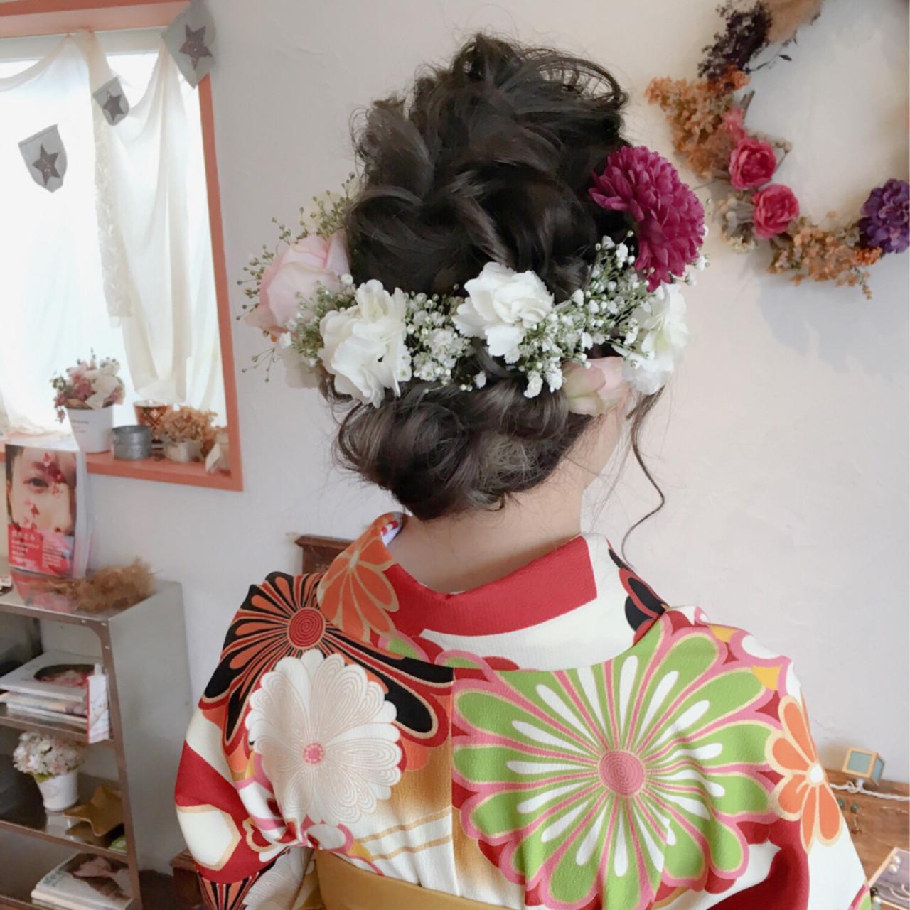 【長さ別】着物に似合う大人かわいいヘアアレンジで、はんなり美人に。 川内道子 instagram→michiko_k