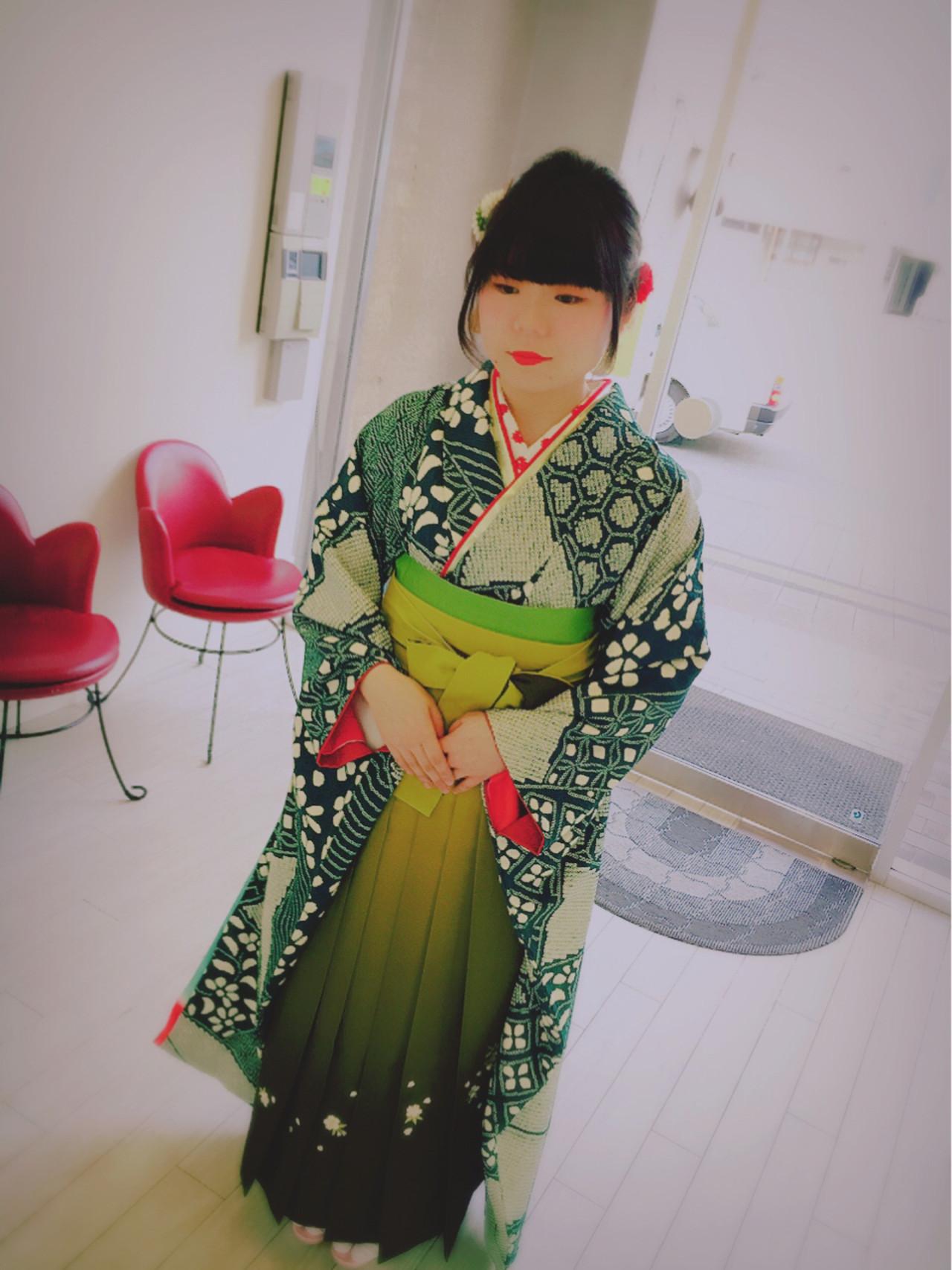 【長さ別】着物に似合う大人かわいいヘアアレンジで、はんなり美人に。 田室 玲子