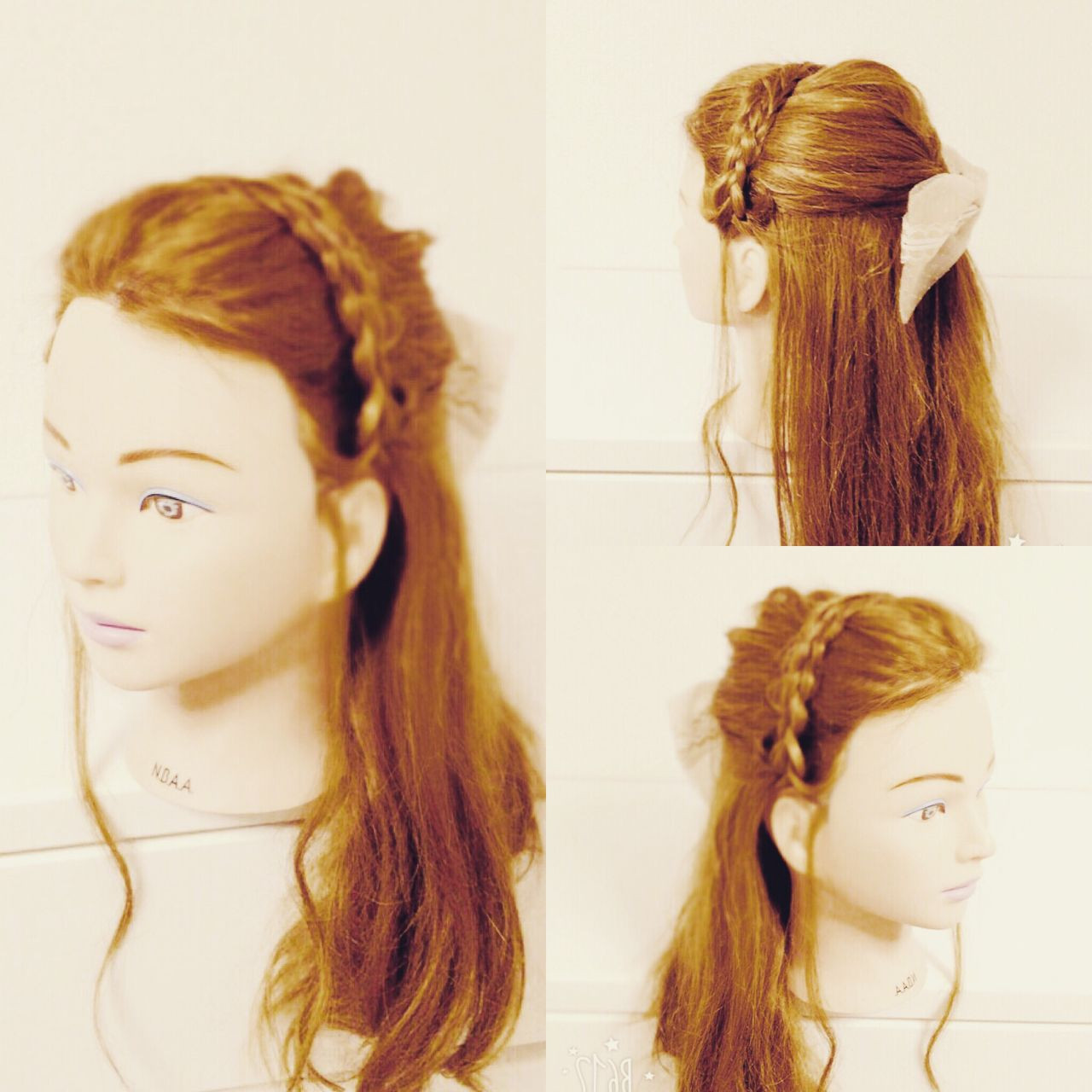 【簡単】可愛さ無限大な三つ編みヘアアレンジでこなれヘアに♡ いまむ