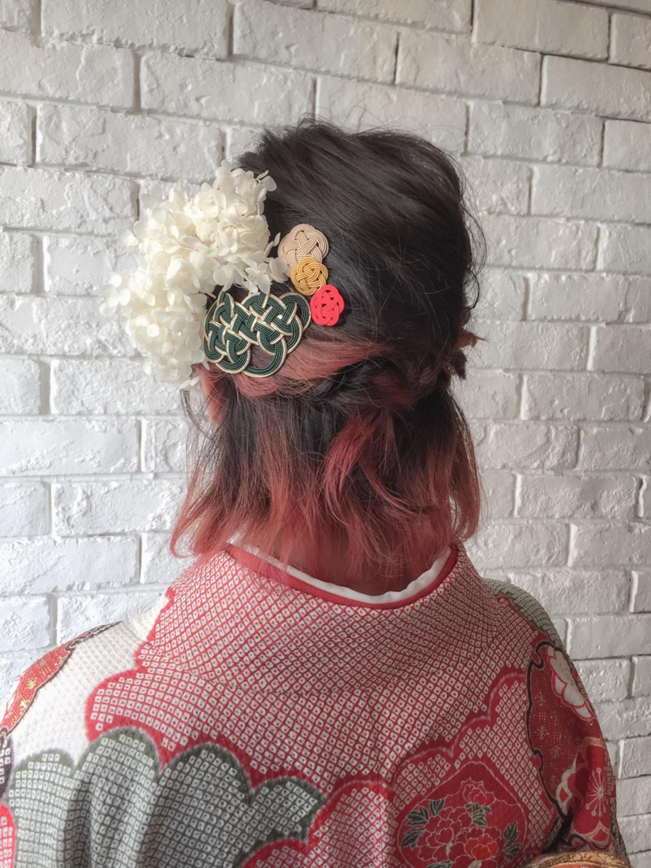 【長さ別】着物に似合う大人かわいいヘアアレンジで、はんなり美人に。 橋本 淳一