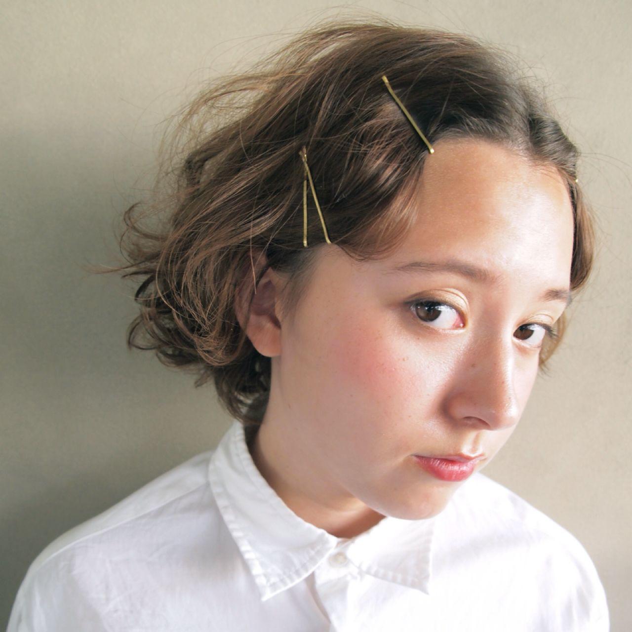 ナチュラル ガーリー ヘアスタイルや髪型の写真・画像