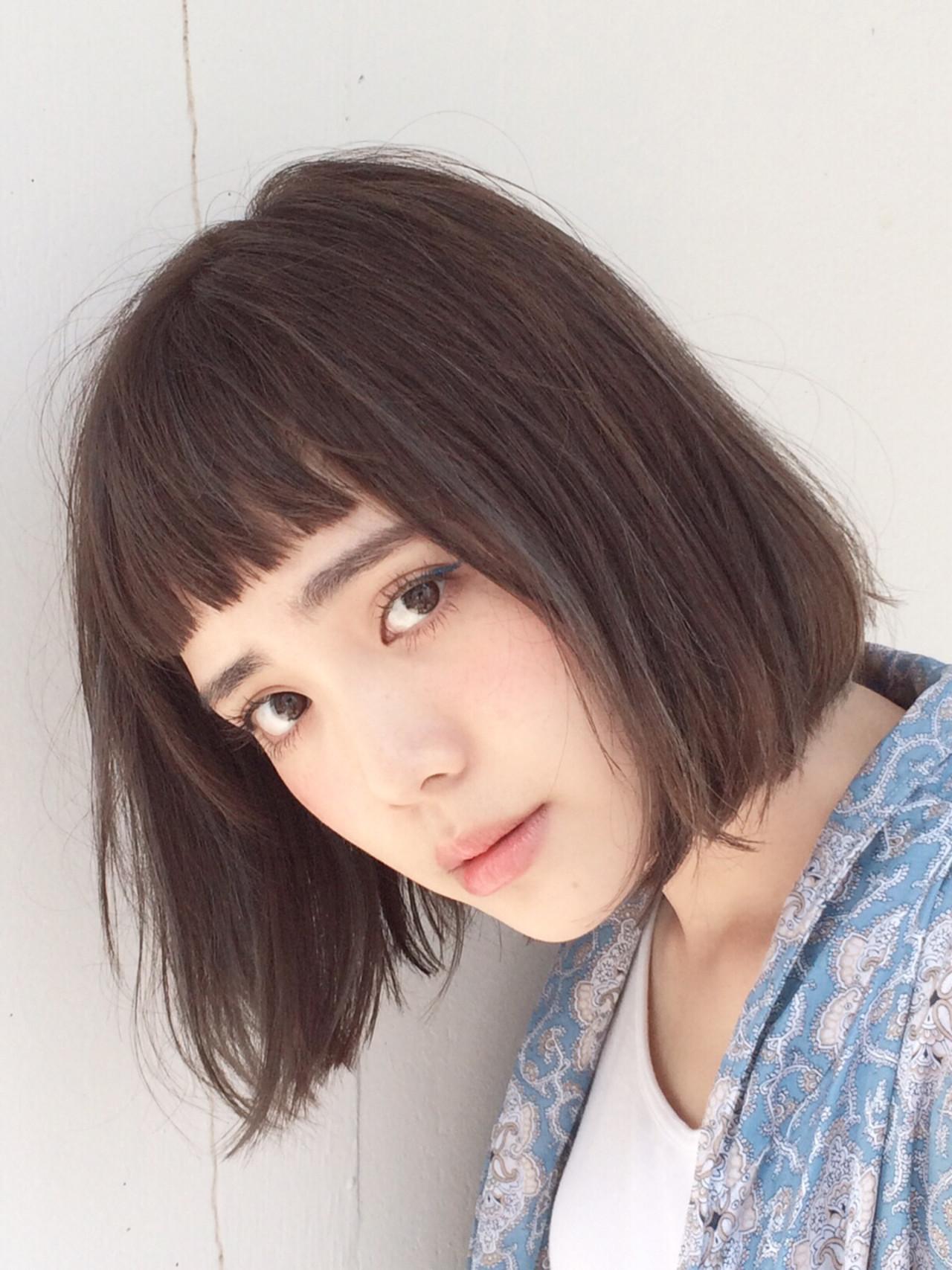 前髪でなりたい自分に!前髪の種類別にスタイルをチェックしてなりたい自分に♡ 馬橋達佳