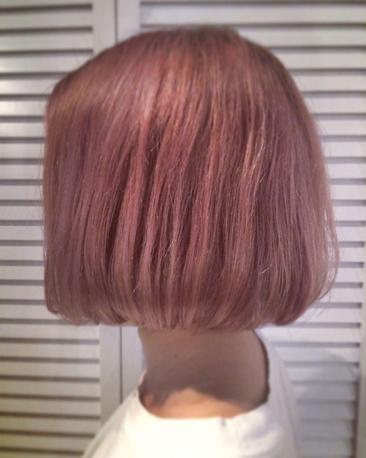 今年の流行はこれ!ピンクベースのおすすめヘアカラーと覚えておきたいポイント YUKINA