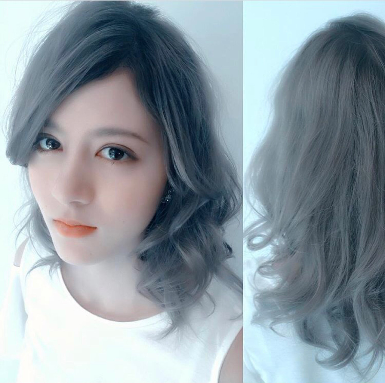 外国人風ヘアを目指す!グレー系のおすすめ髪色ヘアカタログ♡ Teppei