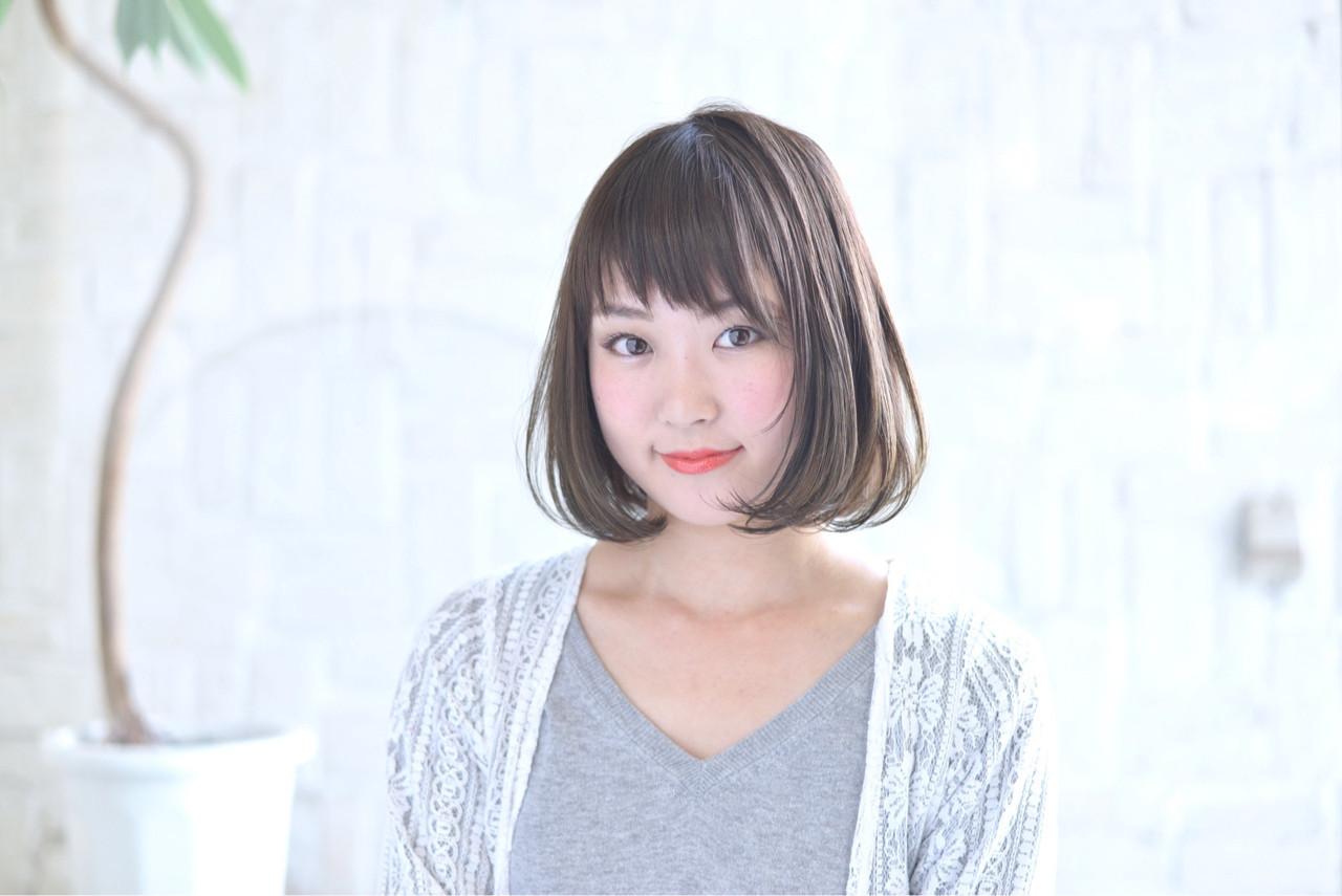 ボブが似合う大人女子へ。前髪スタイル&アレンジで周りと差をつけよう 中野 裕介/jap international  JAP international Ssalon