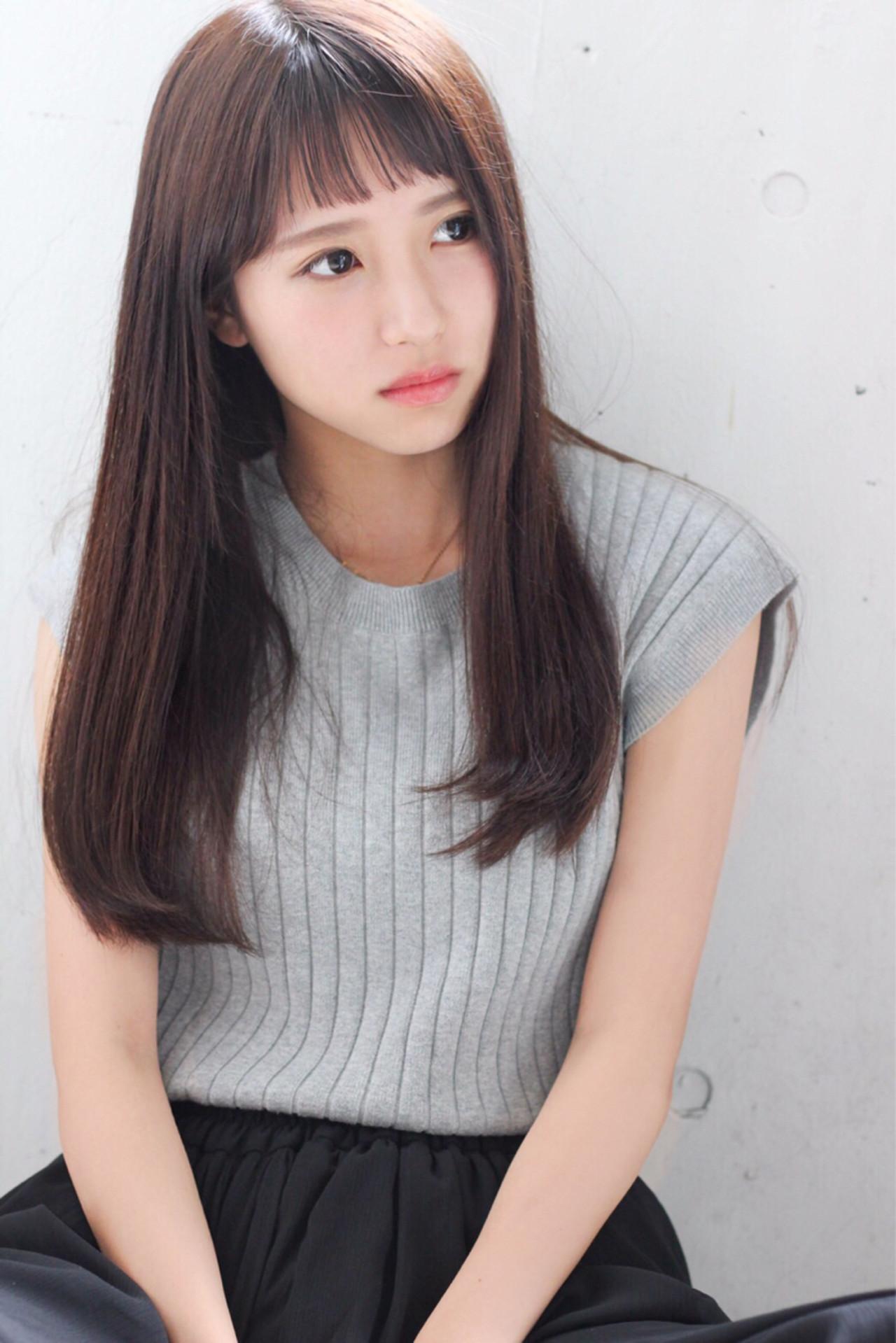 【男子ウケバツグン!】人気の髪型、ストレートヘアに挑戦しよう♡ 渡辺 香子