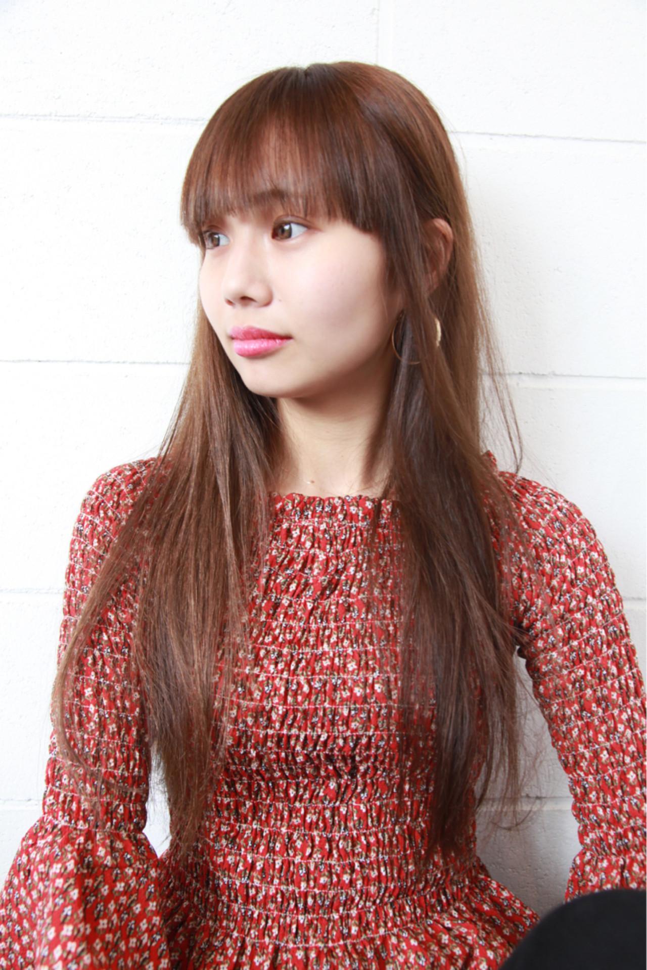 【丸顔さん向け】似合う前髪で顔型カバー!小顔に見えるすっきりバングとは 川原由紀乃 | DEN hairdesign