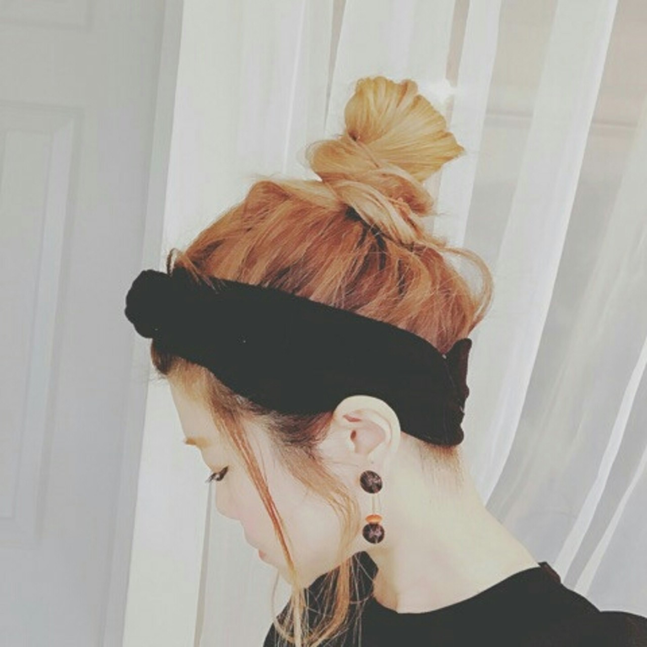 春 ロング 外国人風 大人女子 ヘアスタイルや髪型の写真・画像