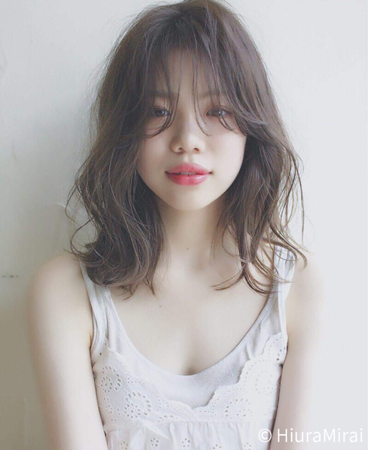 2017大人気カラー!アッシュグレージュで色っぽい女性に♡ HiuraMirai