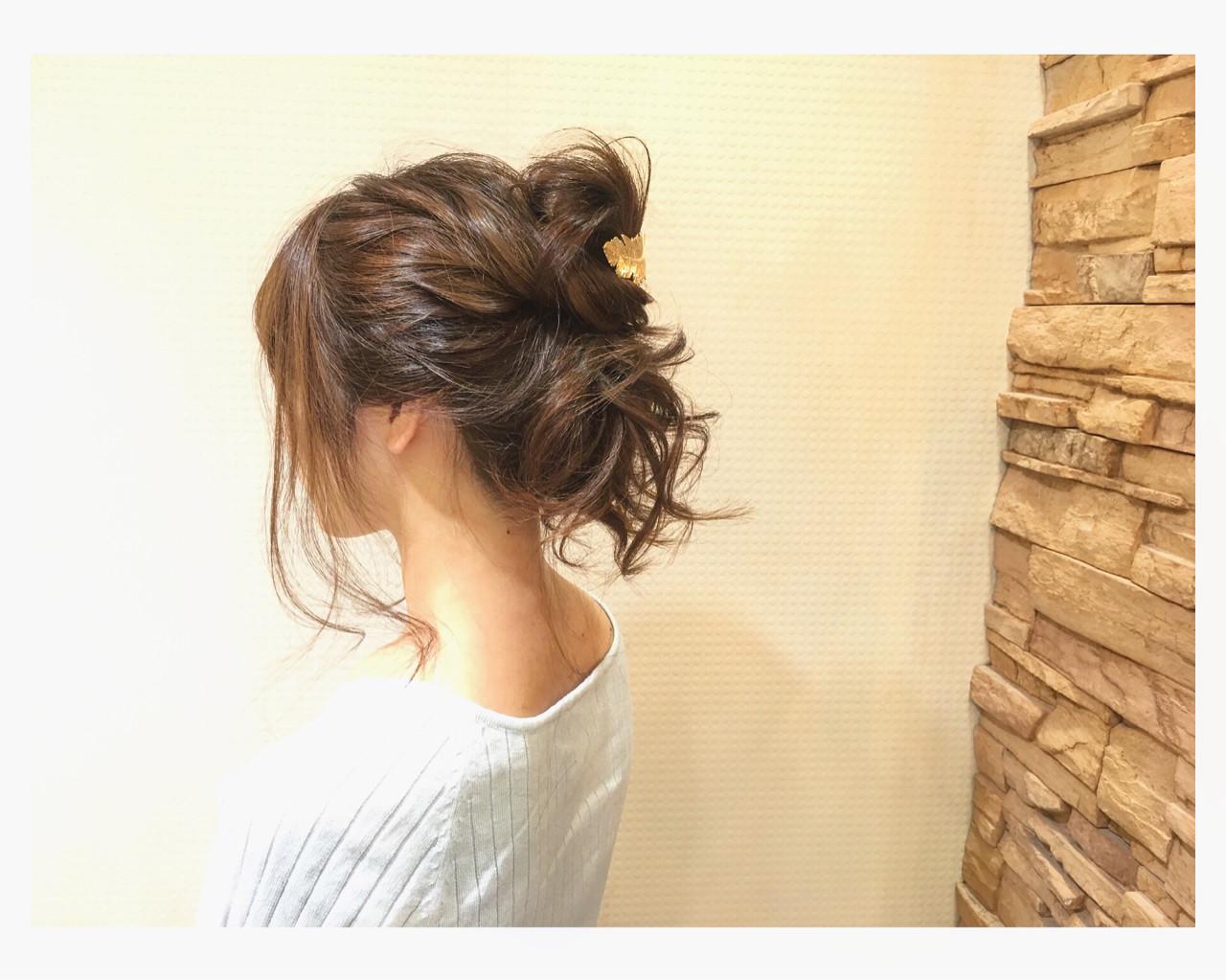 簡単ヘアアレンジ ショート ポニーテール ロング ヘアスタイルや髪型の写真・画像