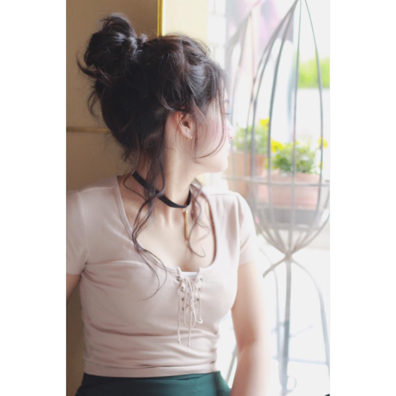 ピュア パーマ ロング ヘアアレンジ ヘアスタイルや髪型の写真・画像