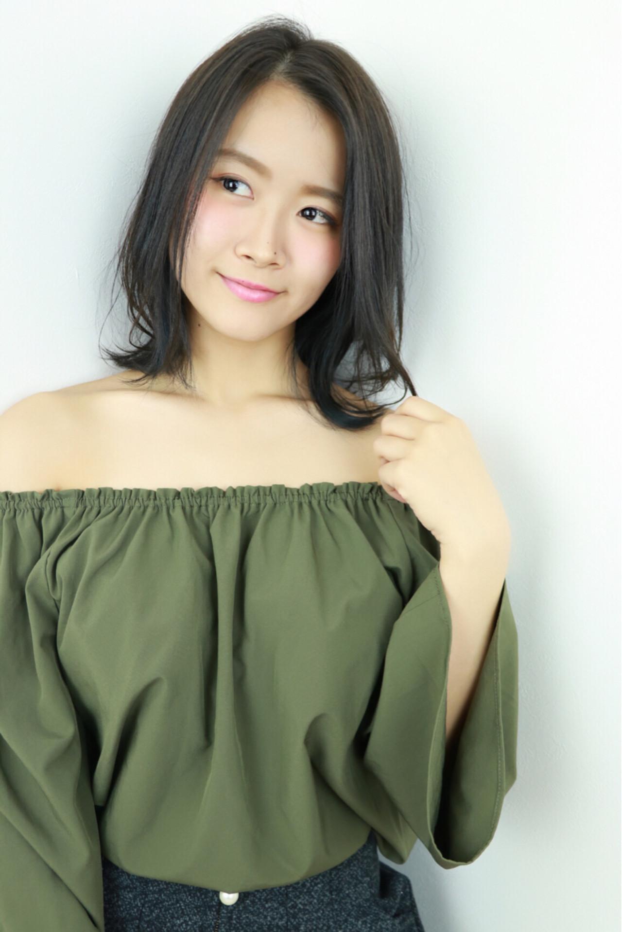 魅力的な黒髪美人に♡あなたの魅力を引き立てるヘアスタイル 渡辺 健介