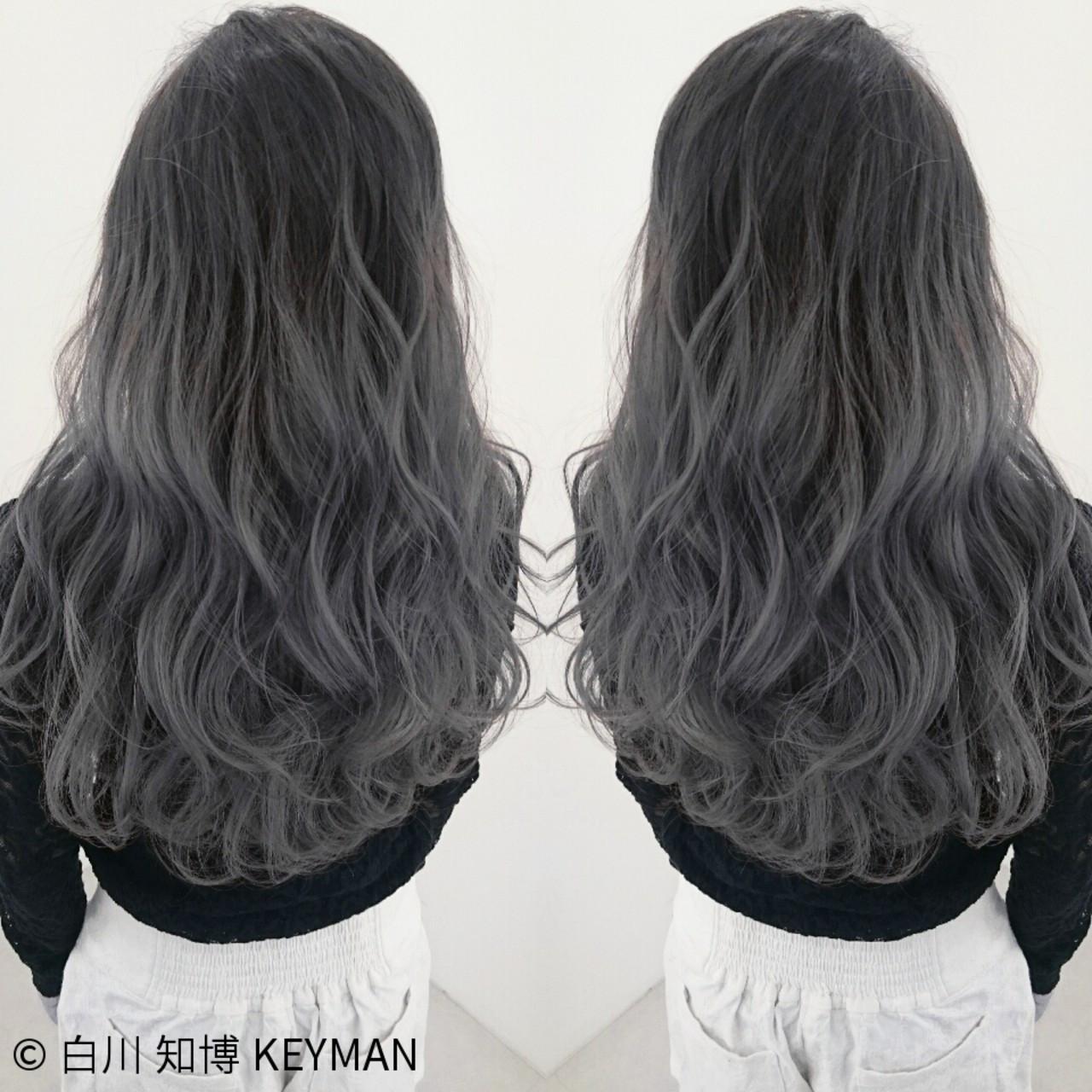 外国人風ヘアを目指す!グレー系のおすすめ髪色ヘアカタログ♡ 白川 知博 KEYMAN