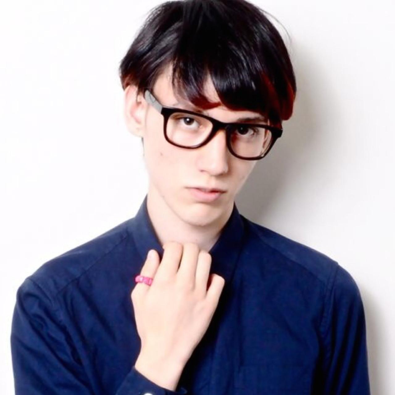 モテ髪 メンズ ボーイッシュ ナチュラル ヘアスタイルや髪型の写真・画像