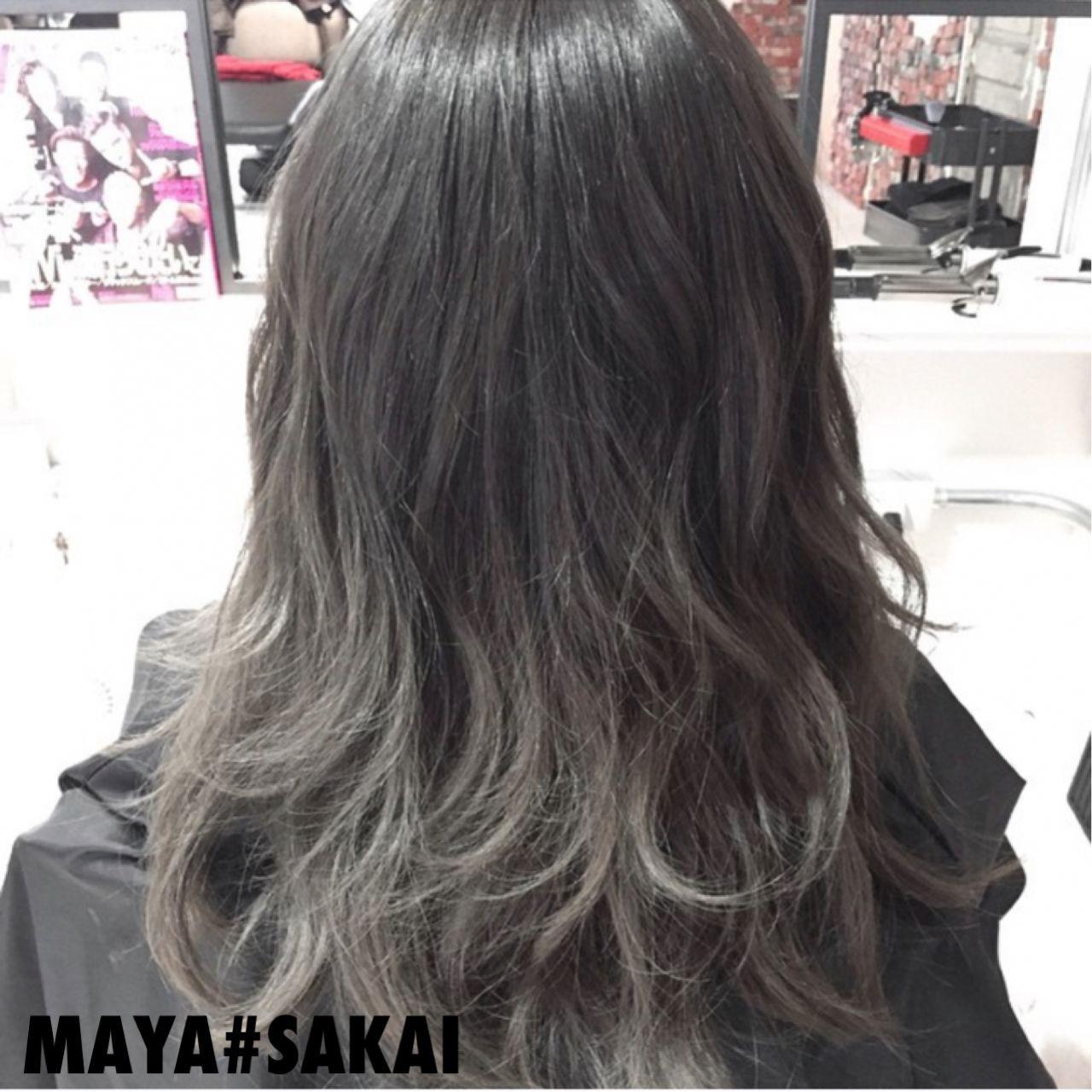 グレー系ヘアカラーが大人気!入りにくい髪色を上手く出すコツは? maya#sakai