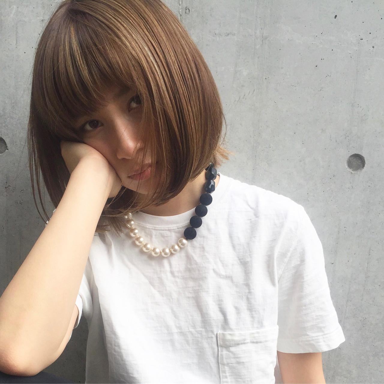 大人が華やぐボブヘア♪30代におすすめのヘアカタログ集 bibito TSUJII&NAGAI