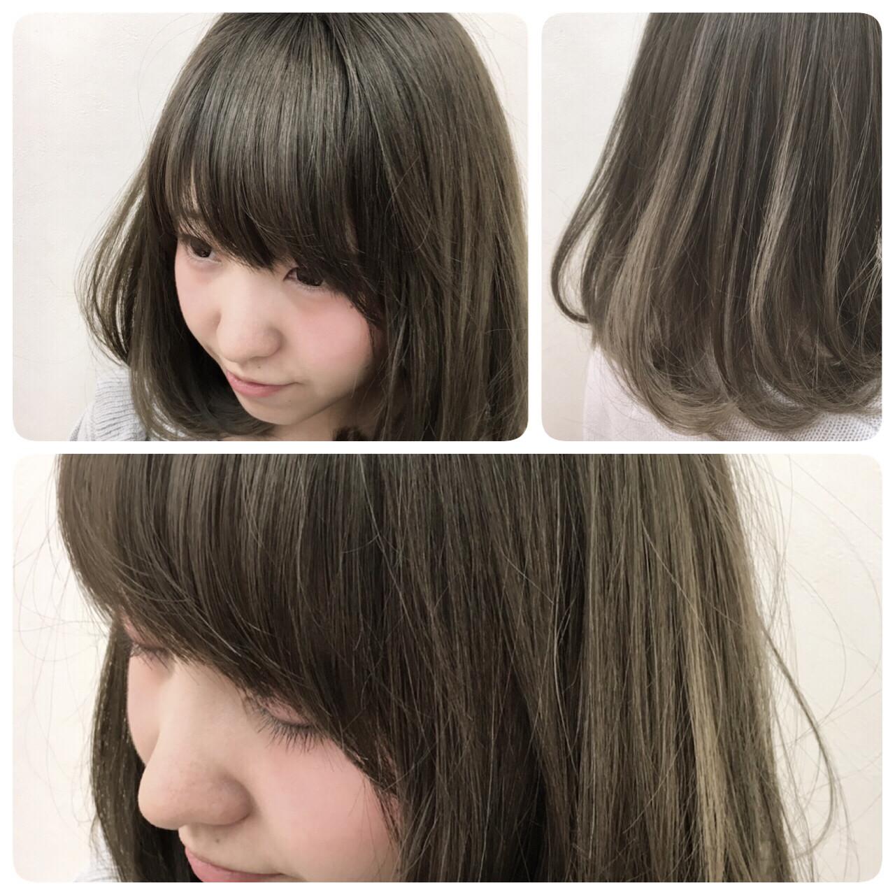 グレー系ヘアカラーが大人気!入りにくい髪色を上手く出すコツは? Katsuhito Emori