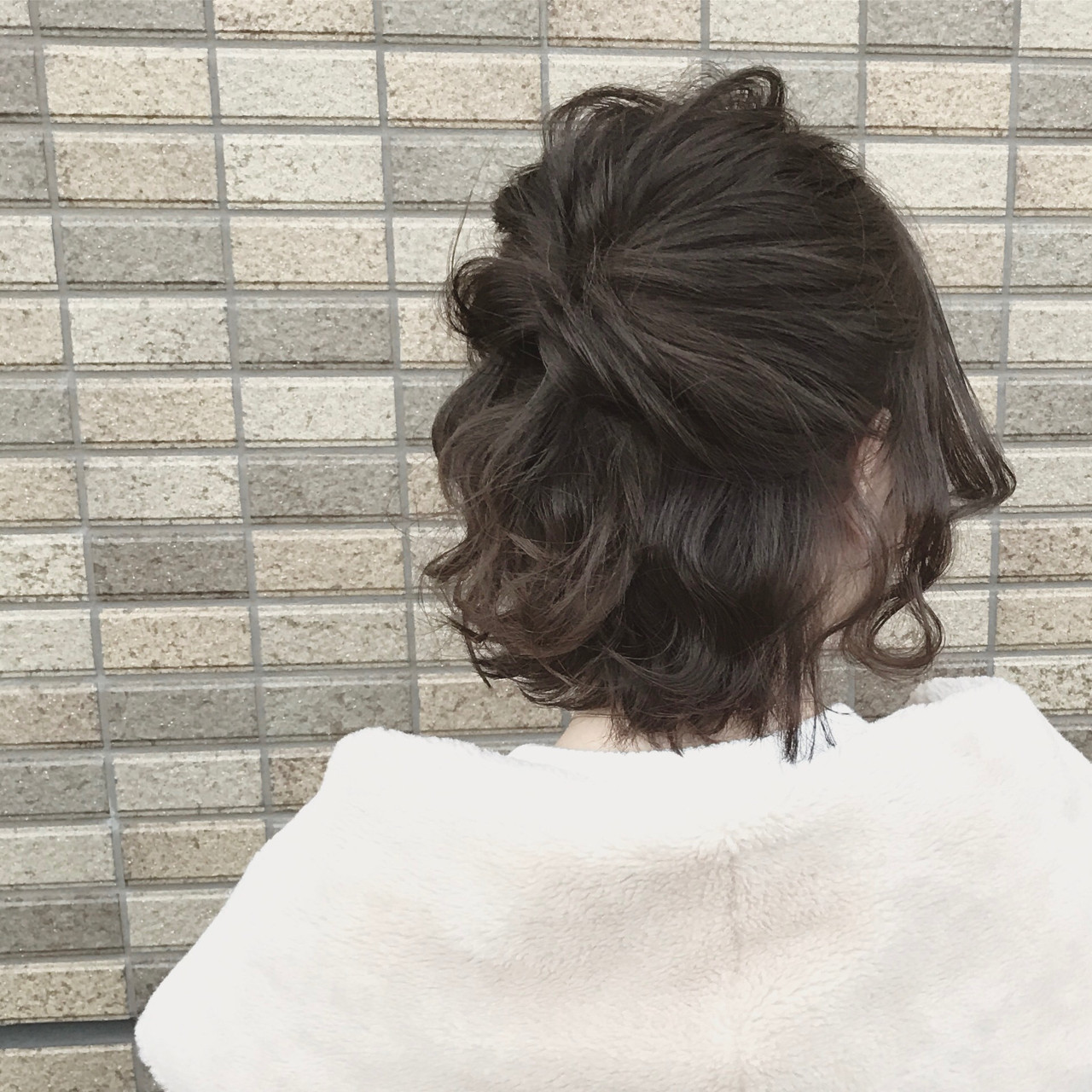 【結婚式髪型】ボブでもできる華やかアレンジ♪自分でもできるヘアセット SHOTA