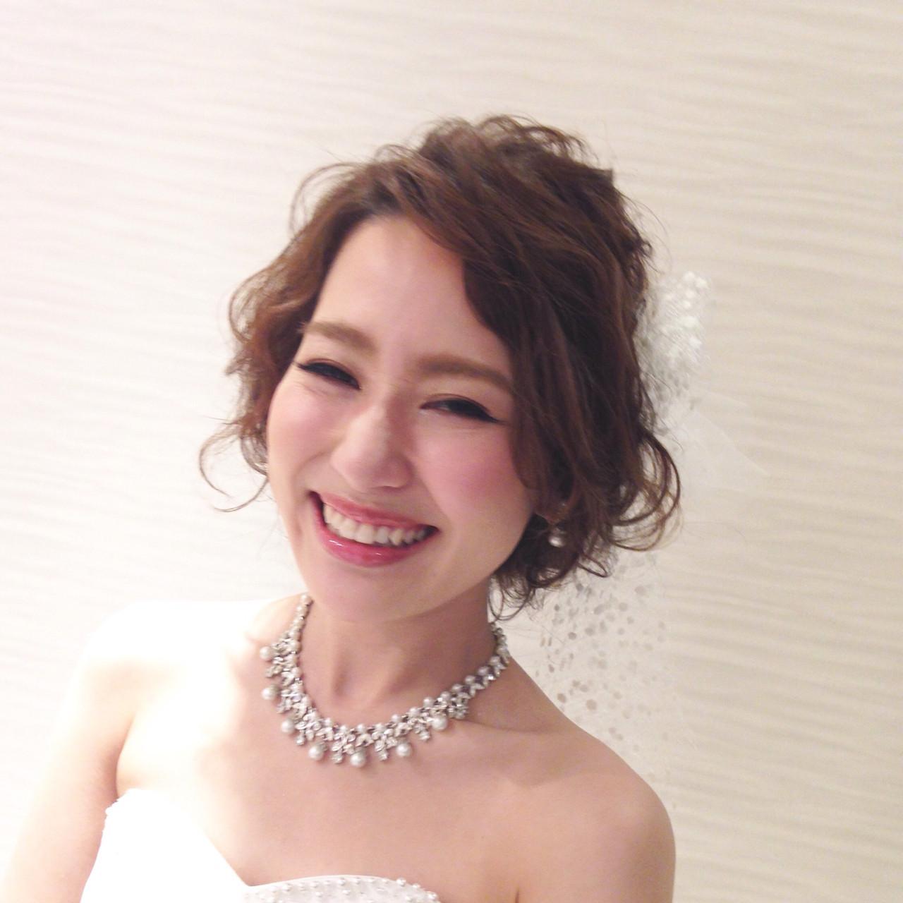 理想の結婚式を叶える♡なりたいイメージ別ウエディングヘアカタログ 稲垣 嘉乃