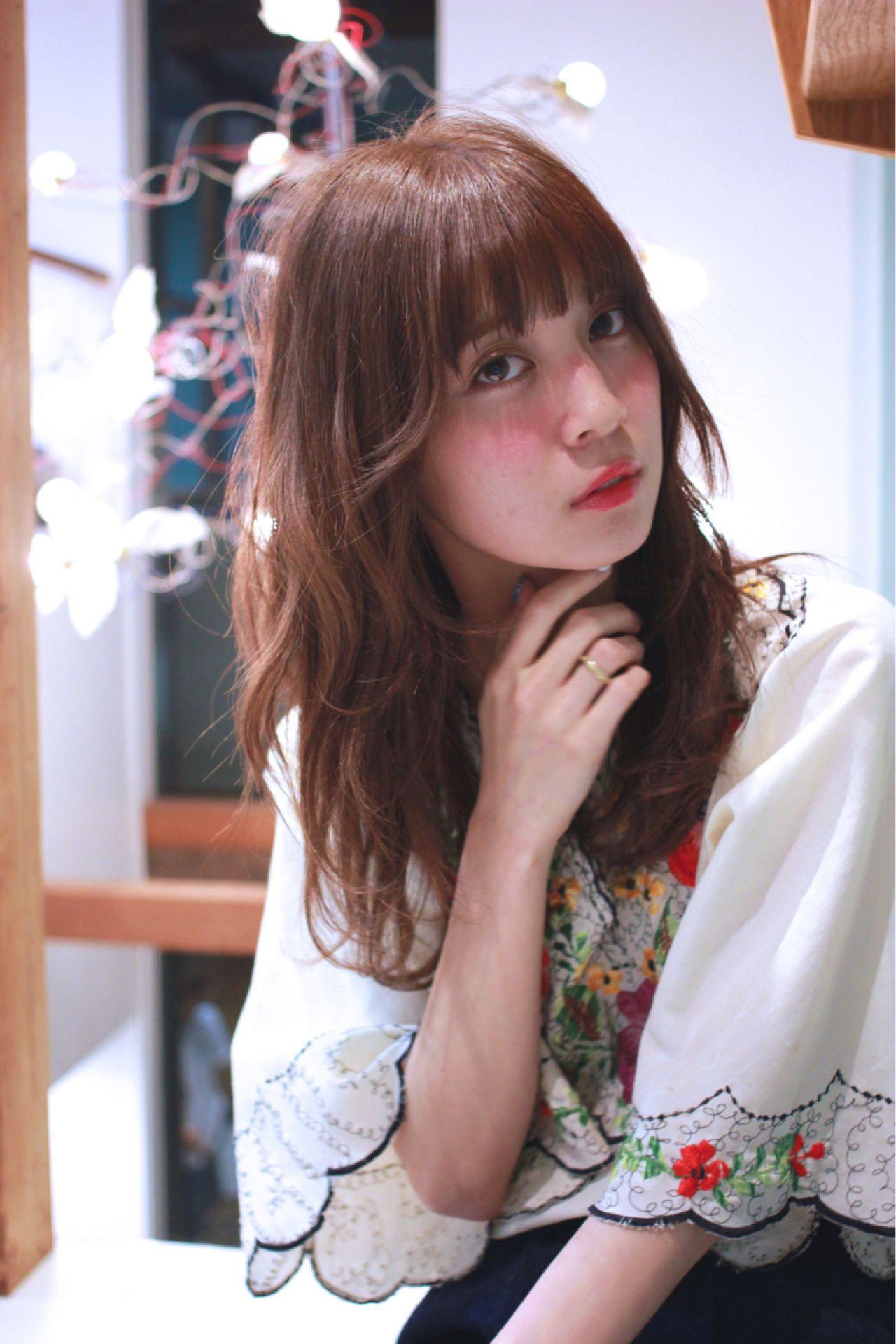 【初心者でも簡単!】女性に人気の前髪アシメ!切り方を解説します♡ 浜本 忠勝