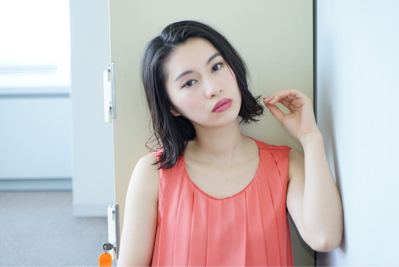 魅力的な黒髪美人に♡あなたの魅力を引き立てるヘアスタイル 加藤斐子
