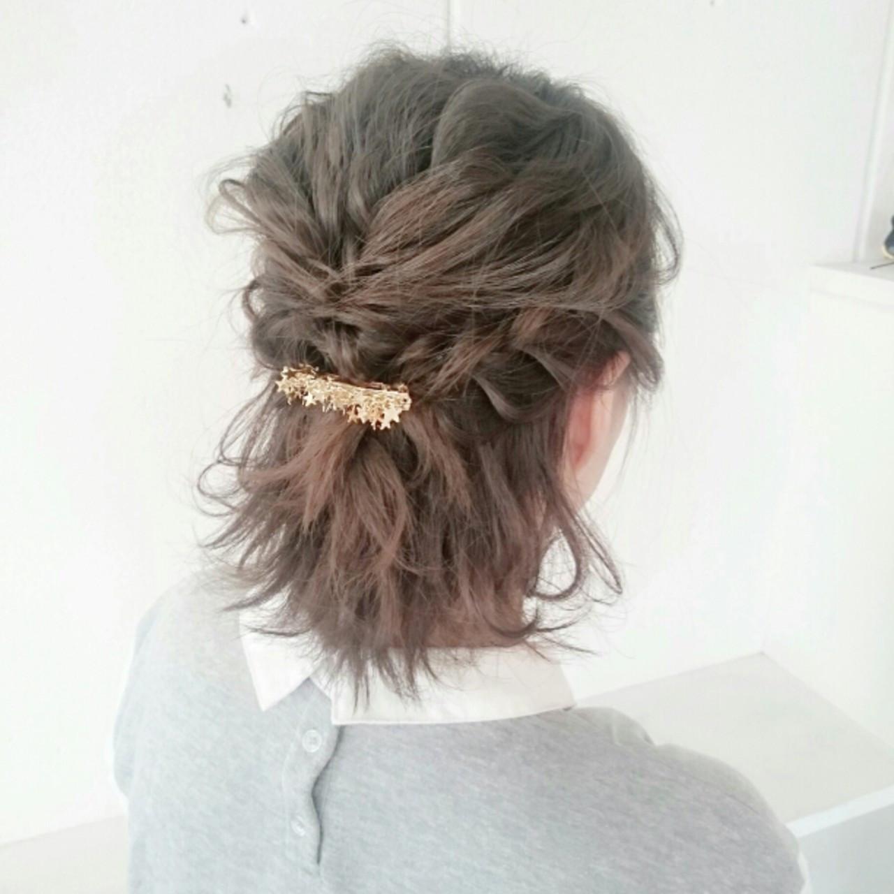 短くても可愛い髪型を楽しみたい!ショートヘアのアレンジ&セット法 福原 慶之