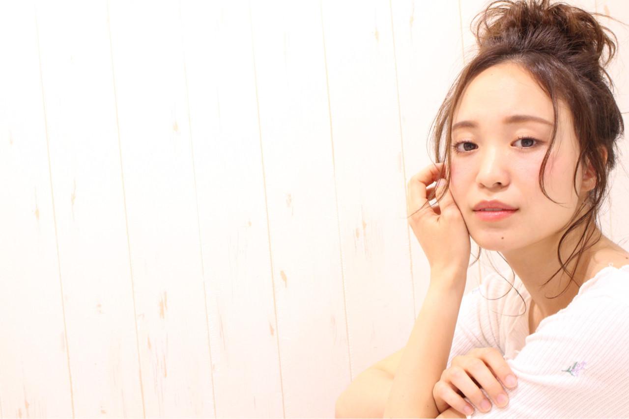 ゆるふわお団子で作るこなれスタイル♡《まとめる位置別》おすすめヘアアレンジ集 Nakamura Gota