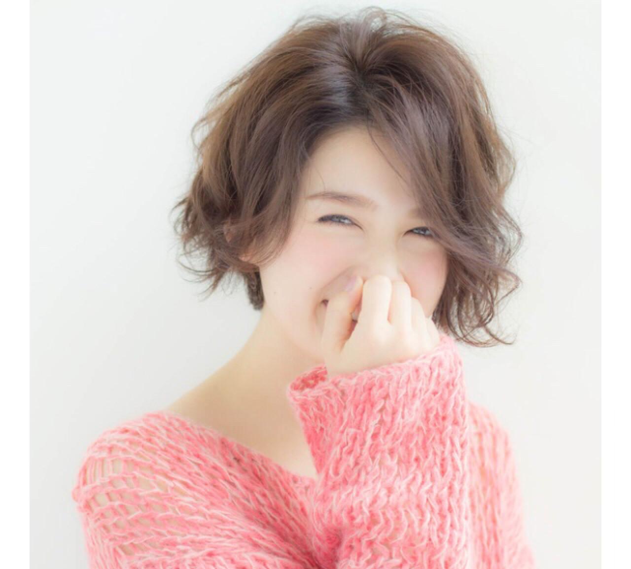 天然パーマを生かそう!くせ毛さん向けのパーマ髪型特集 幸恵宮原