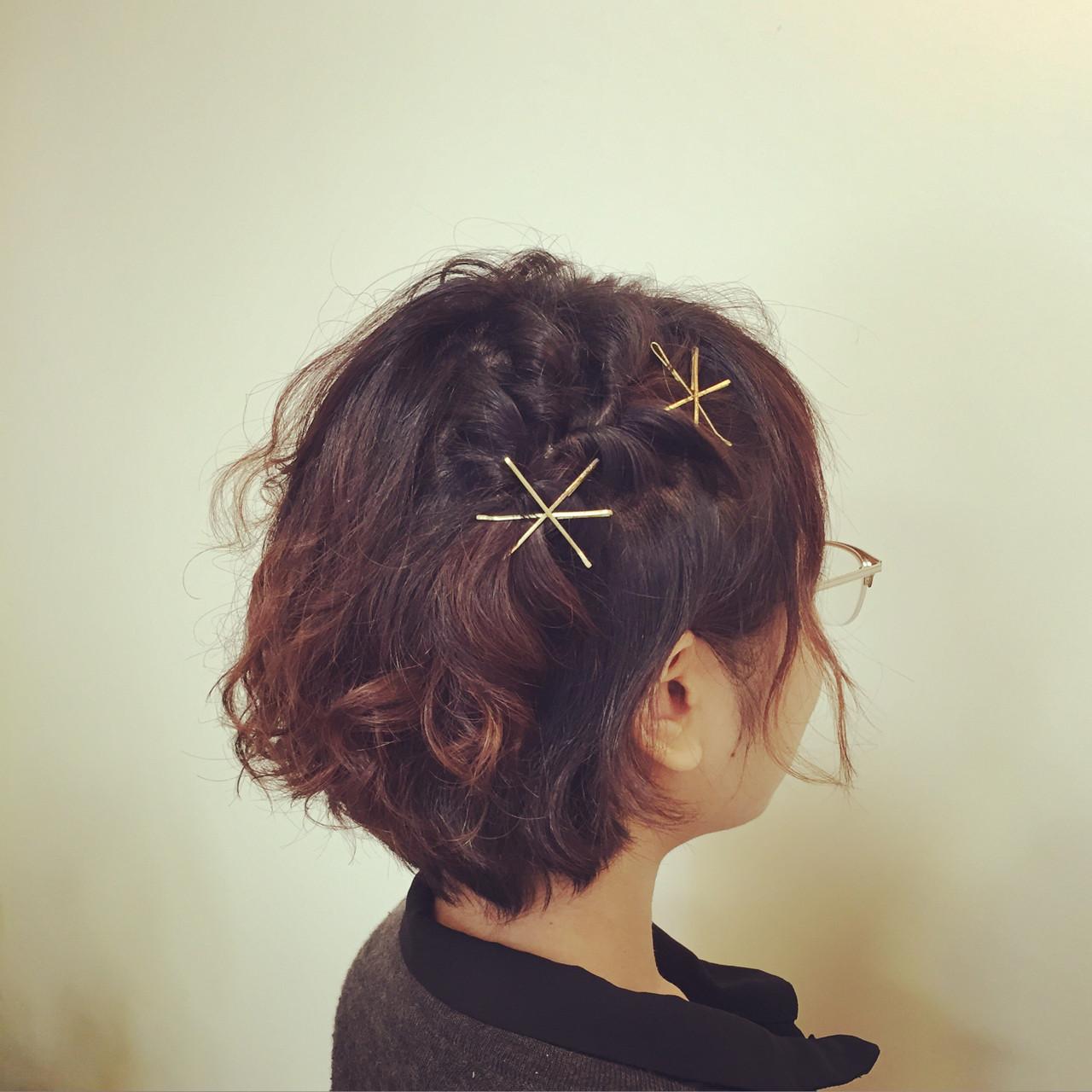 短くても可愛い髪型を楽しみたい!ショートヘアのアレンジ&セット法 いまむ