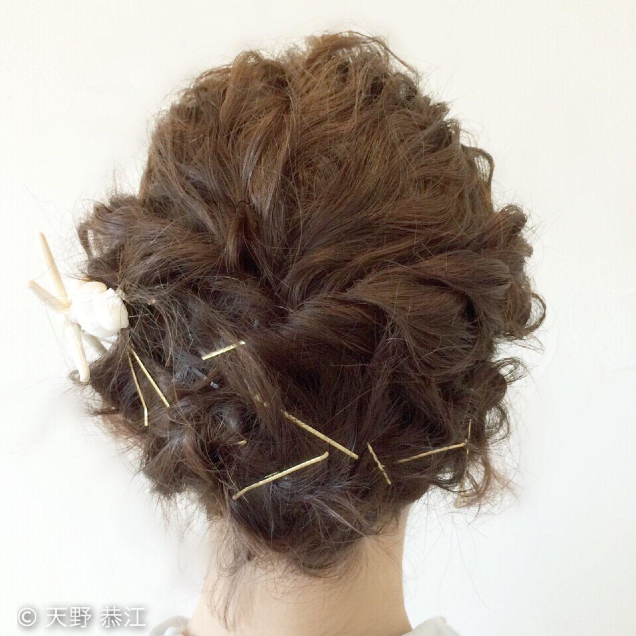 短くても可愛い髪型を楽しみたい!ショートヘアのアレンジ&セット法 天野 恭江