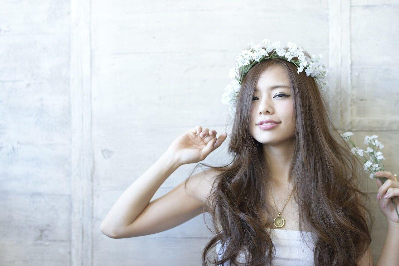 結婚式 ゆるふわ フェミニン コンサバ ヘアスタイルや髪型の写真・画像