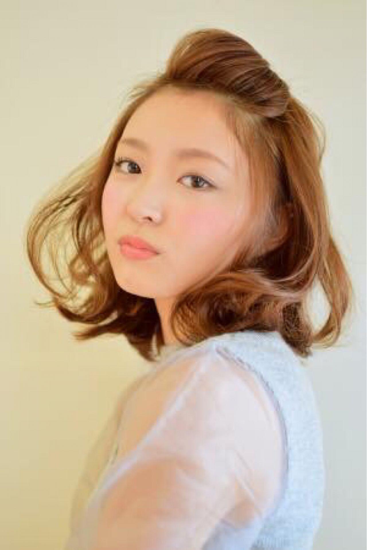 すっきりとまとめて好印象に!前髪アップで印象チェンジ♡ 篠原 美佐生