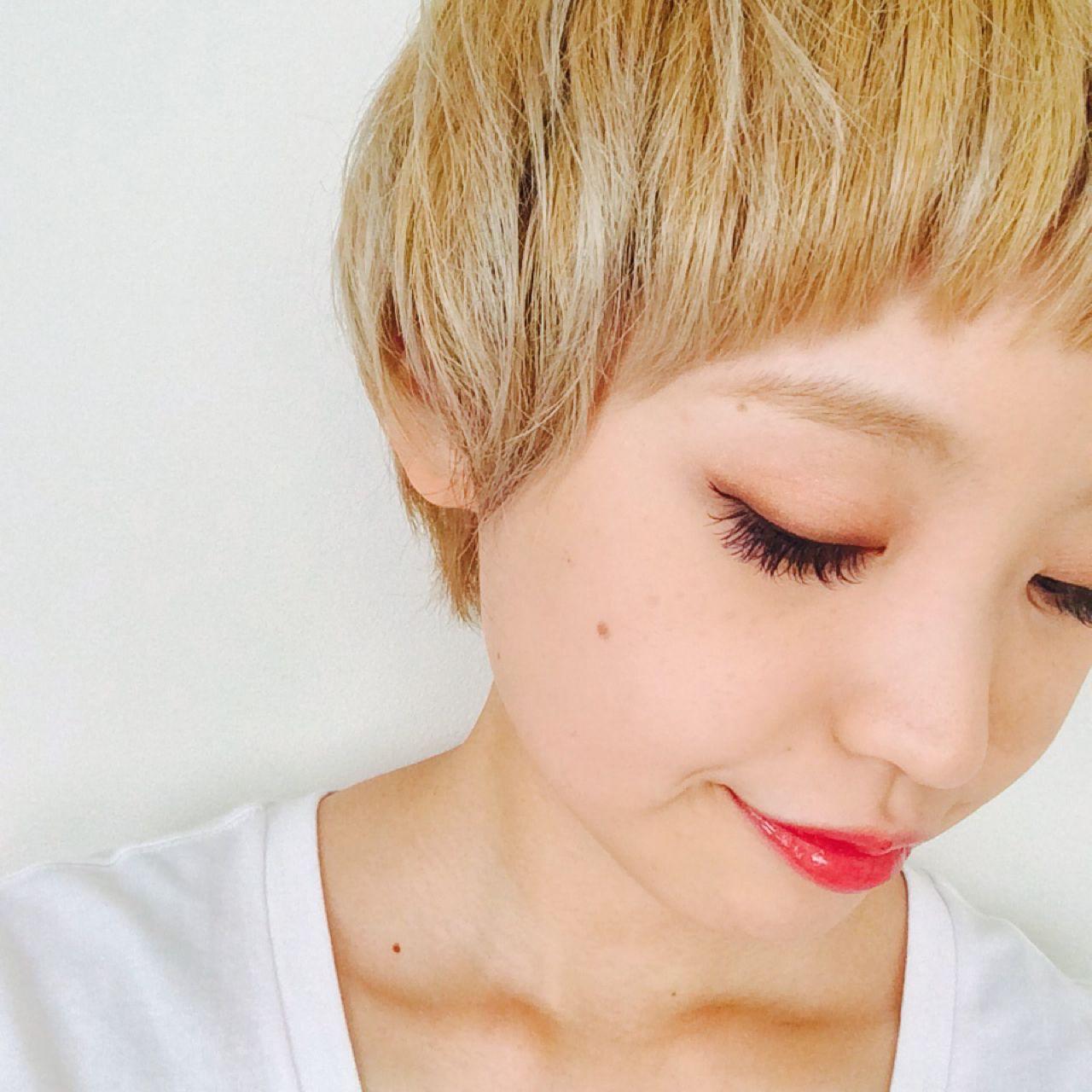 前髪を流す方法がわからない!切り方だけでかんたんにアレンジする方法 HARU