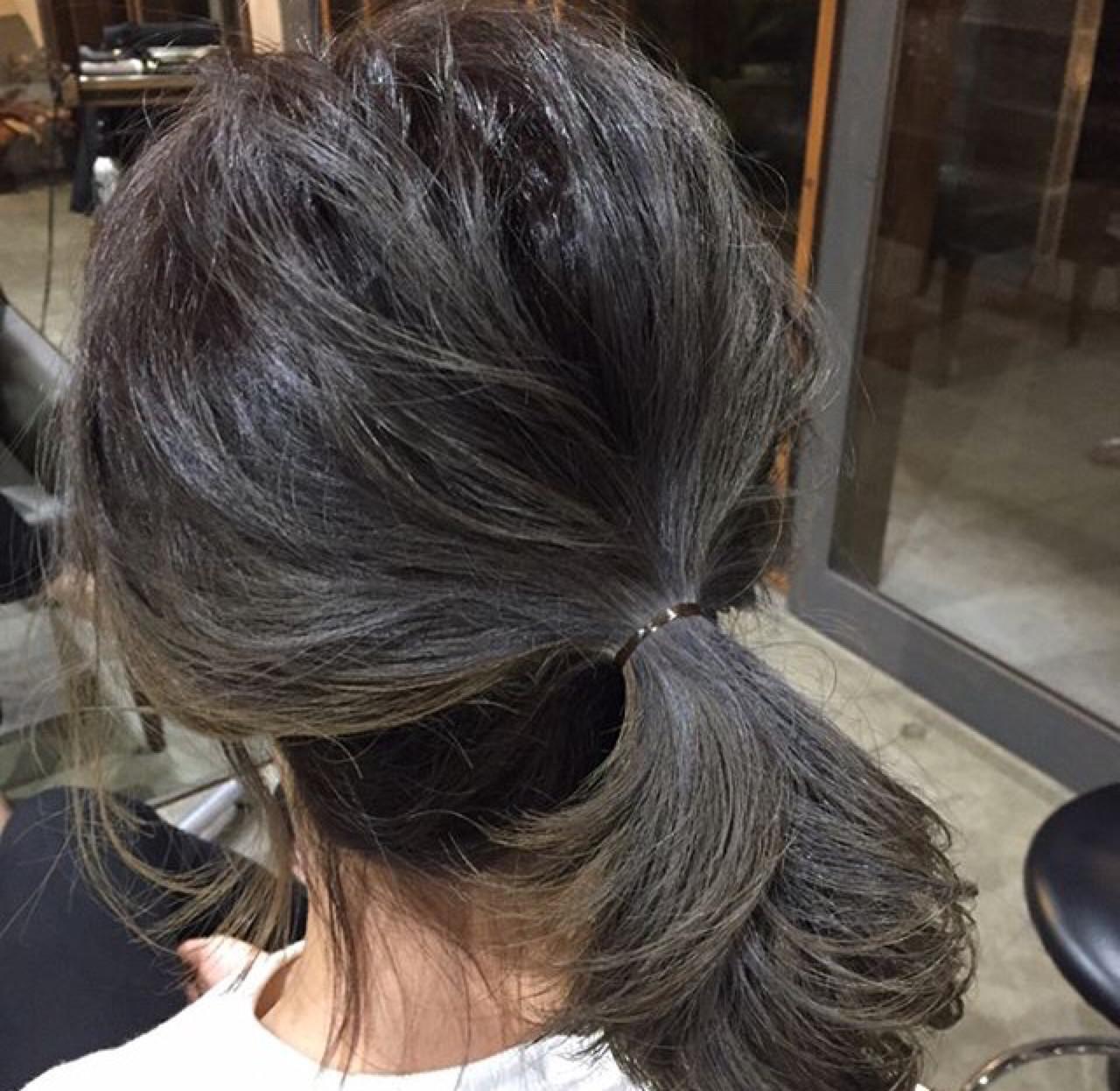 ミディアムさんの簡単ヘアアレンジ講座?基本の4スタイルを教えます 尾崎裕介  Quatre hair design