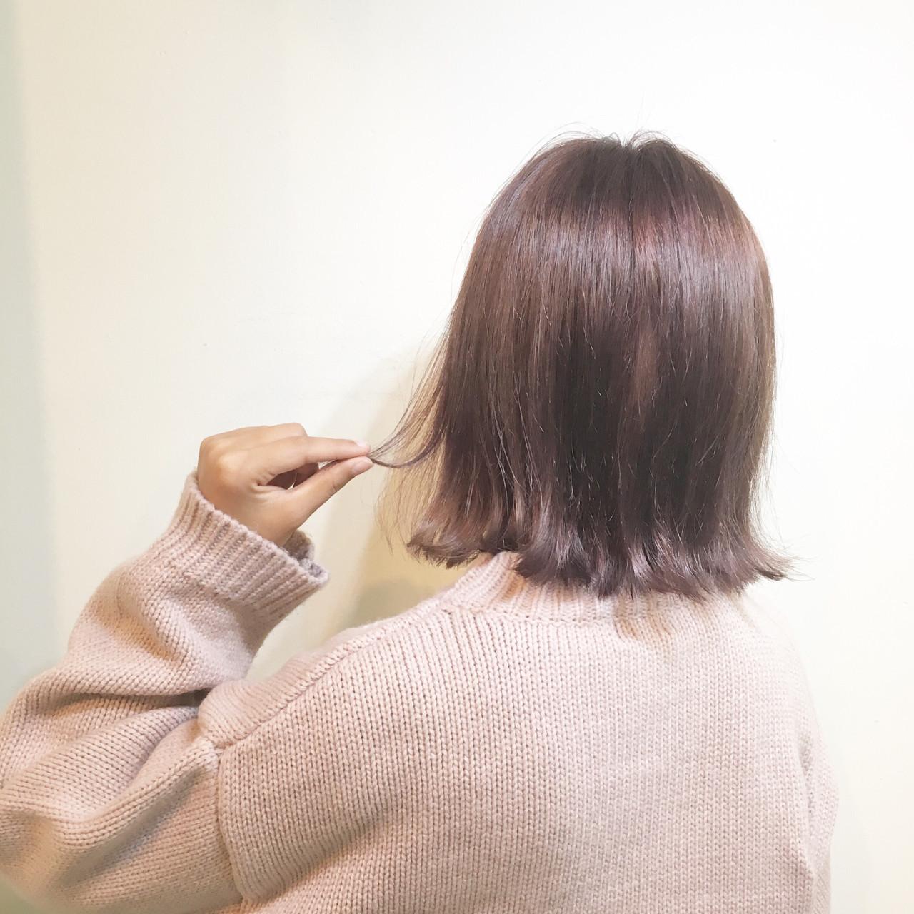 女子会 透明感 リラックス ハイトーン ヘアスタイルや髪型の写真・画像