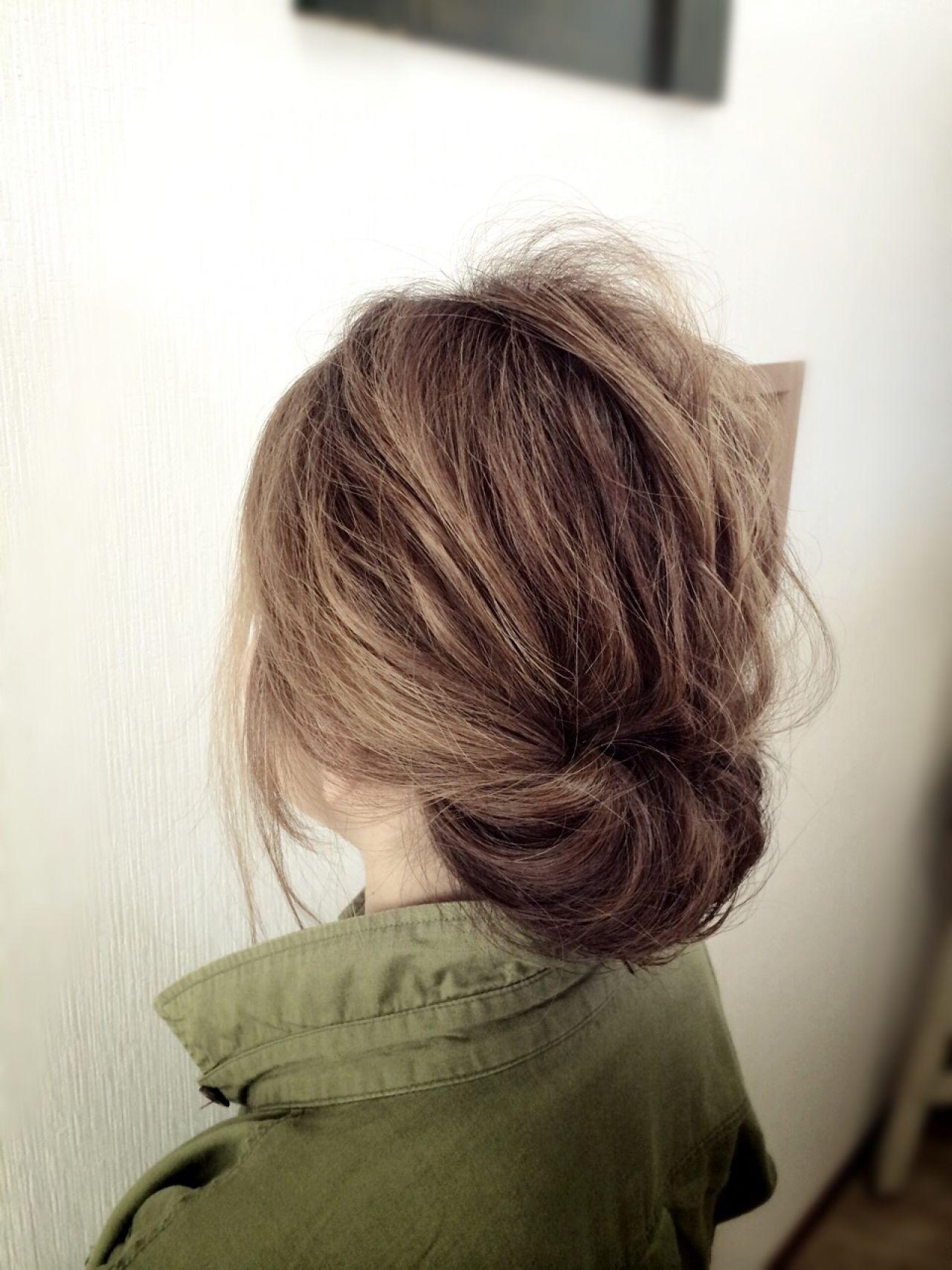簡単ヘアアレンジ「シニヨン」のやり方特別レッスン♡基本技〜変化テクまで! 花原 直樹  bench-hair(ベンチヘアー)